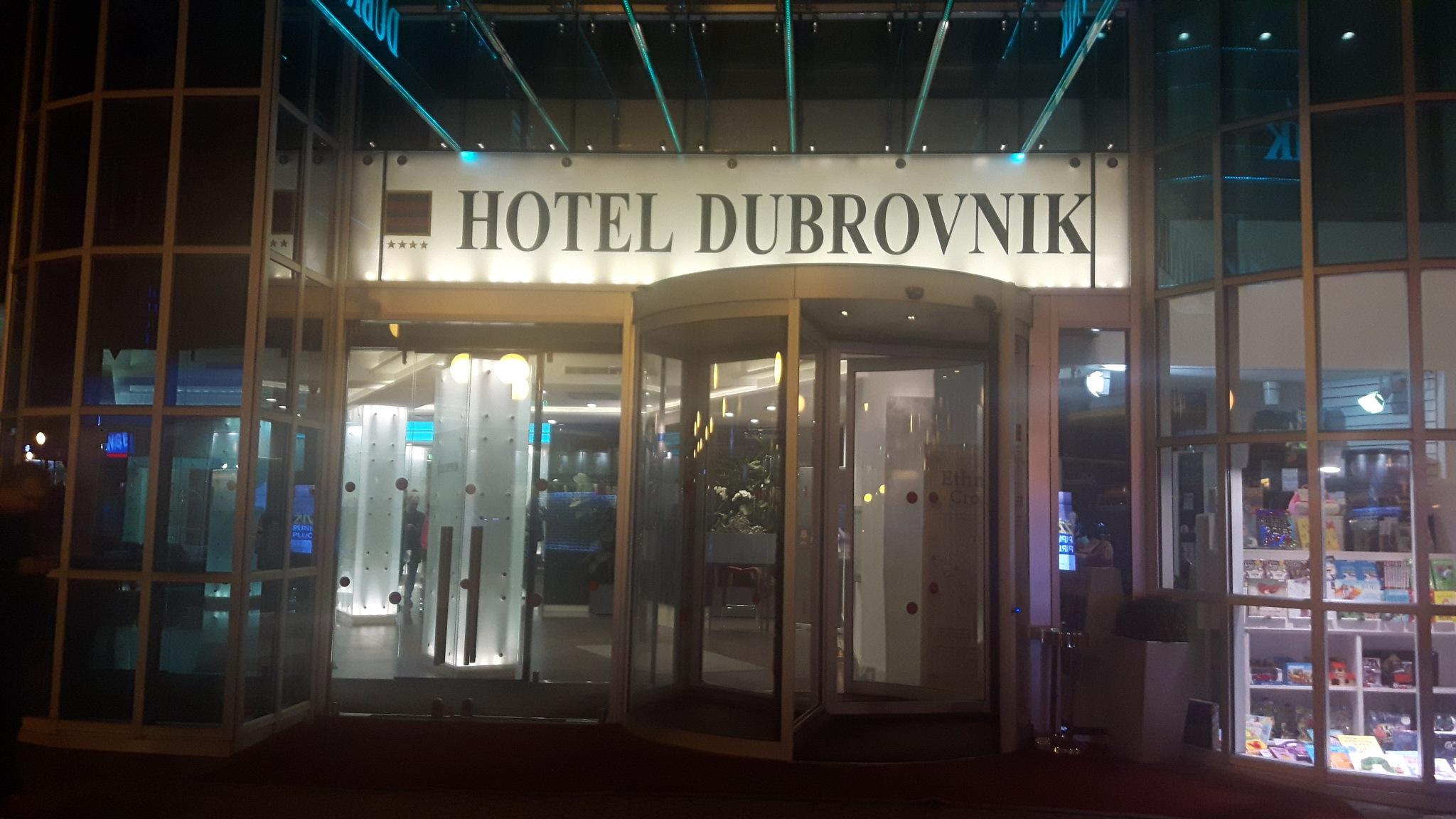 Enterance to hotel Dubrovnik in Zagreb by Mevludin_Hasanovic