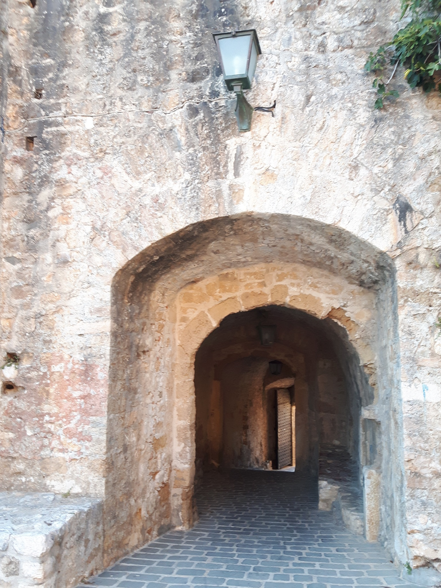 A stone gate enterance/exit in/out of Old town of Ulcinj by Mevludin_Hasanovic