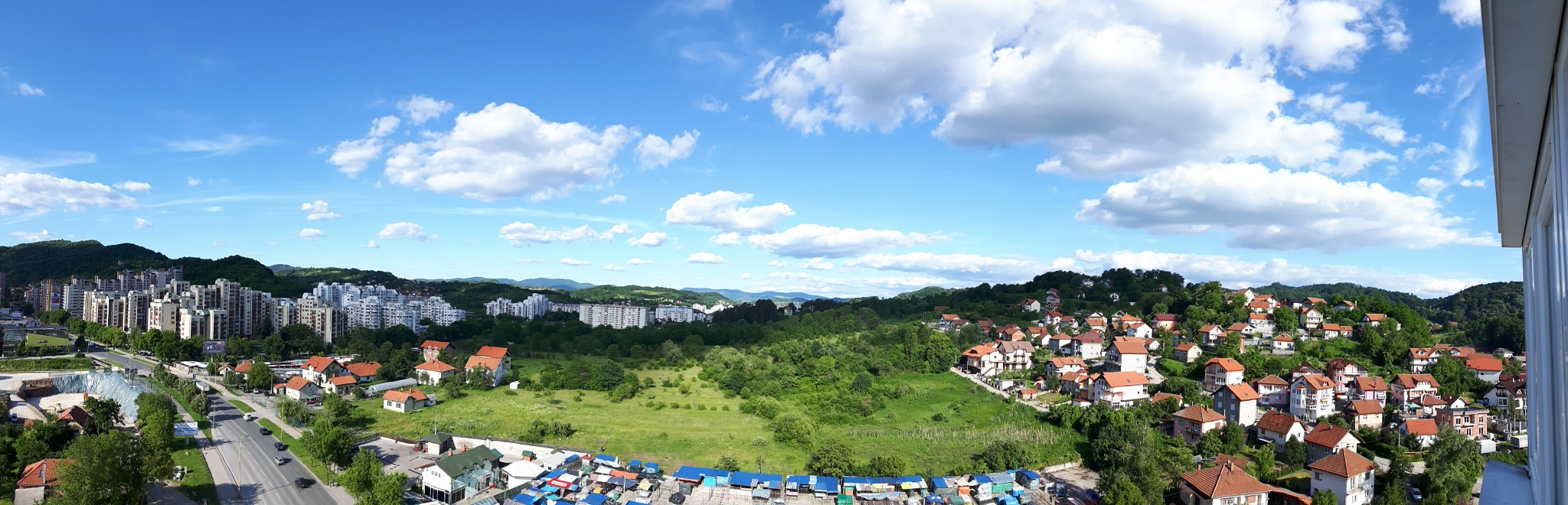 Tuzla east view panorama by Mevludin_Hasanovic