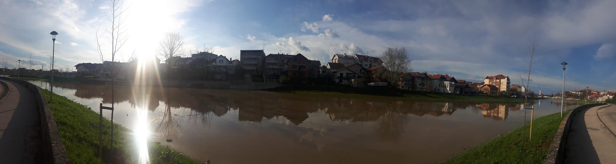 Flooded river Brka in Brčko by Mevludin_Hasanovic