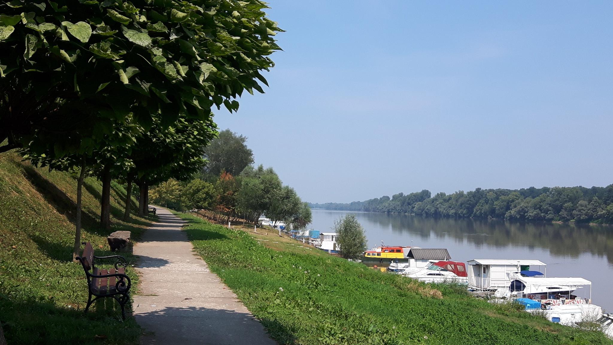 River Sava from Bosnia-Herzegovina bank by Mevludin_Hasanovic