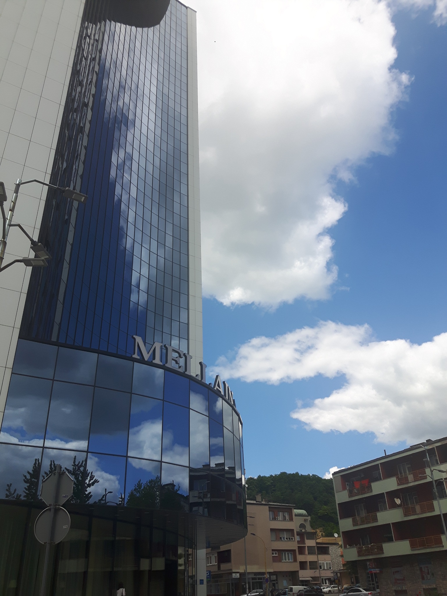 Sky and sky reflections on hotel Mellain by Mevludin_Hasanovic