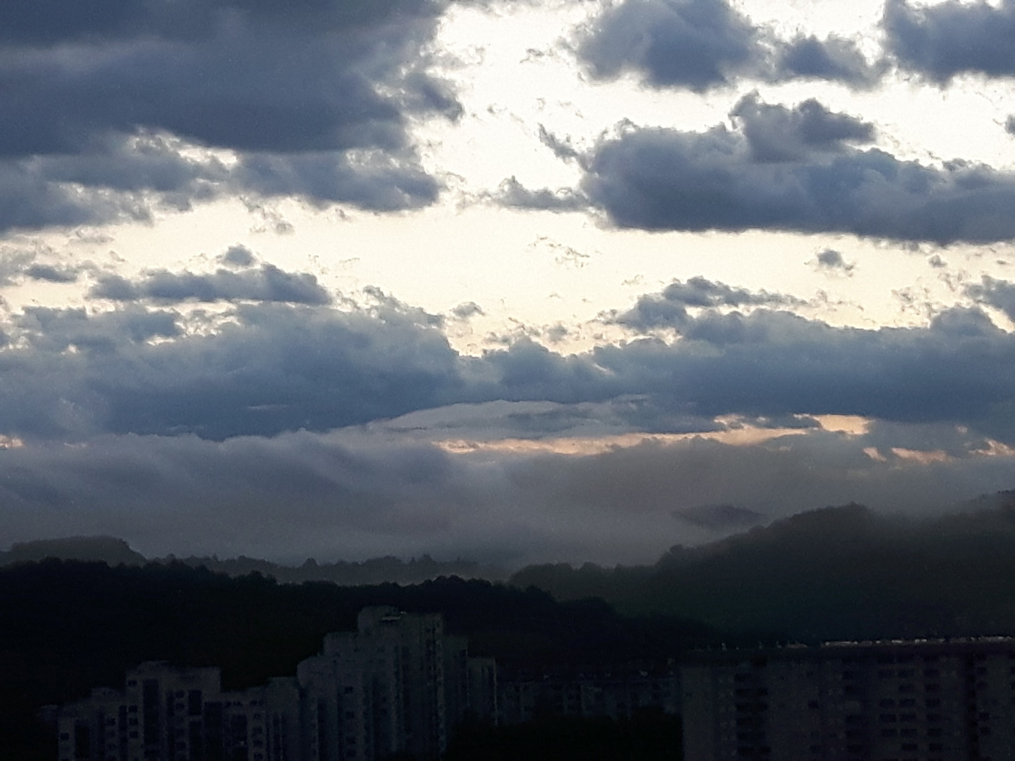 Morning sky after night raining by Mevludin_Hasanovic