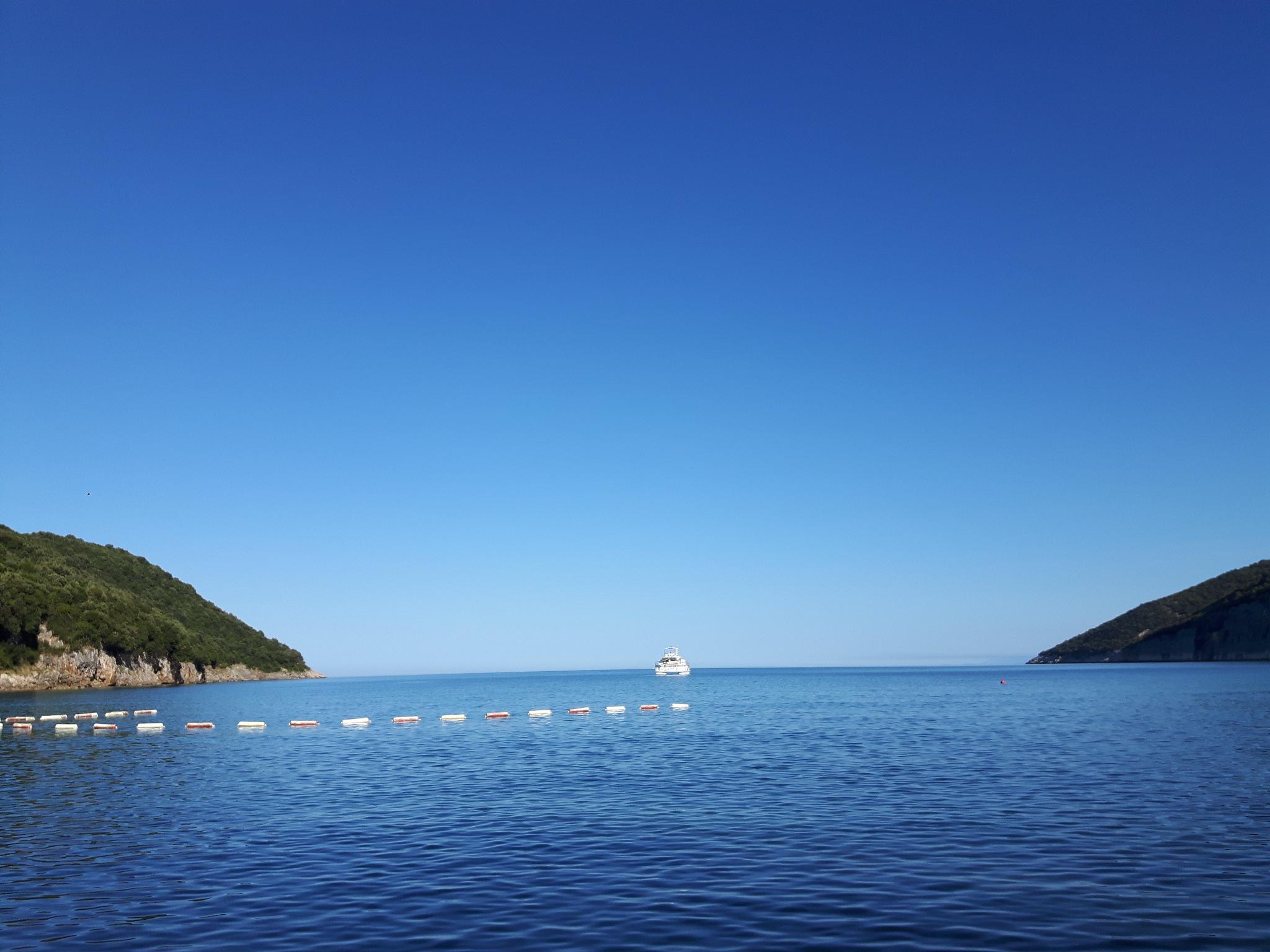 Departure from Valdanos Bay by Mevludin_Hasanovic