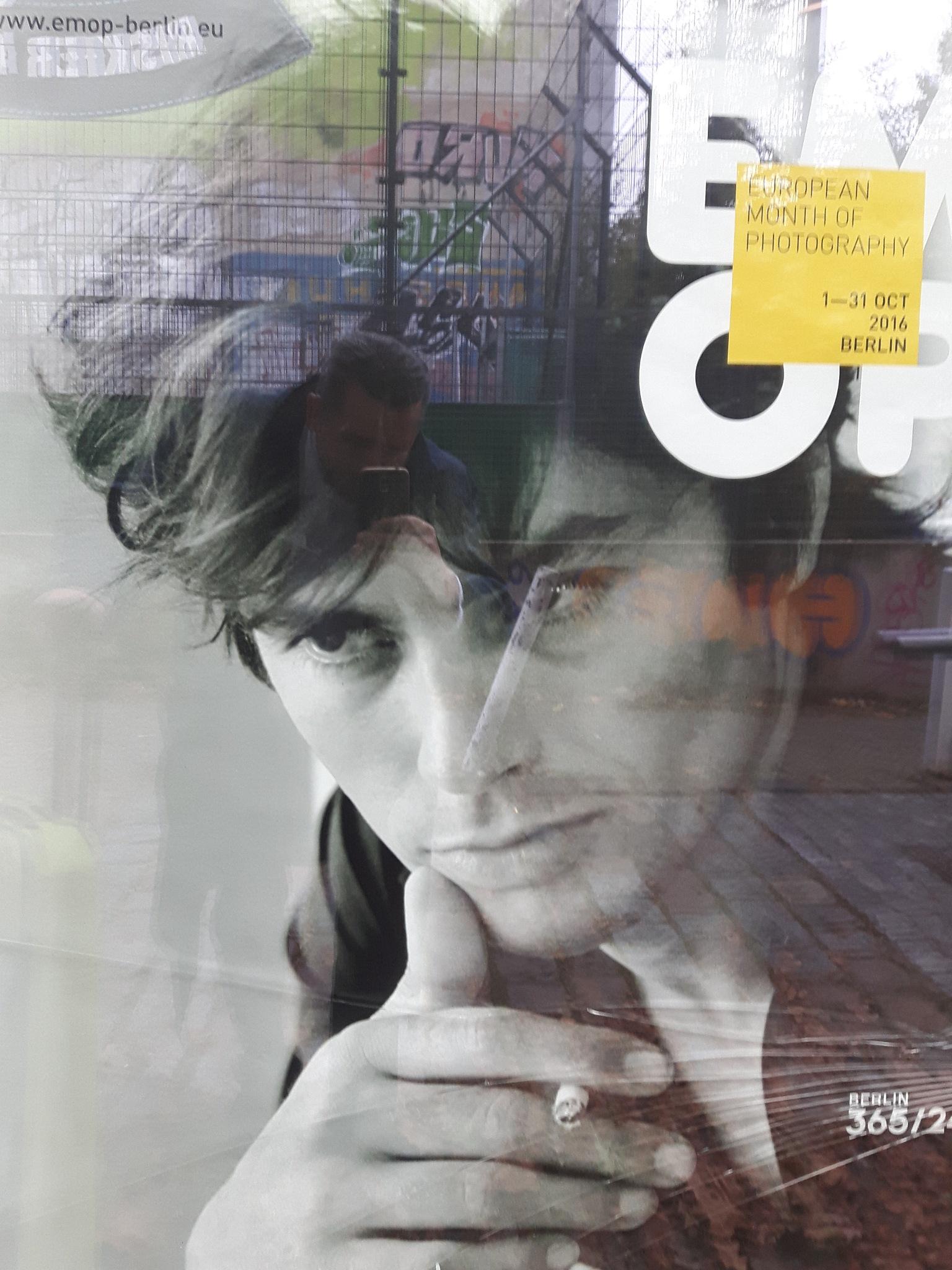 Alain Delon in Shop window by Mevludin_Hasanovic