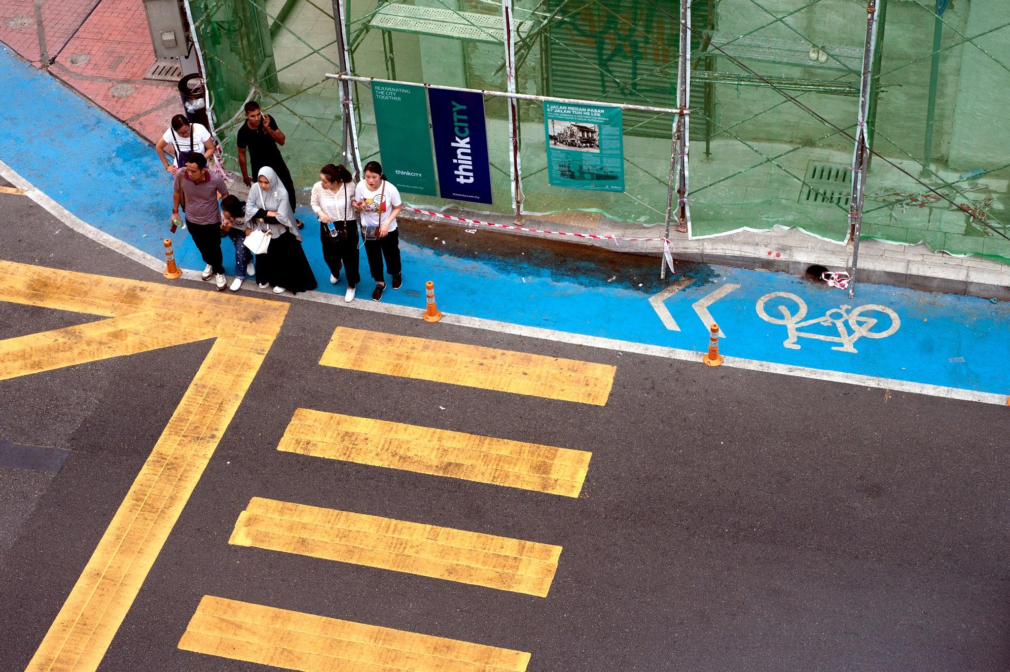 crossing by Mustaffa Tapa Otai