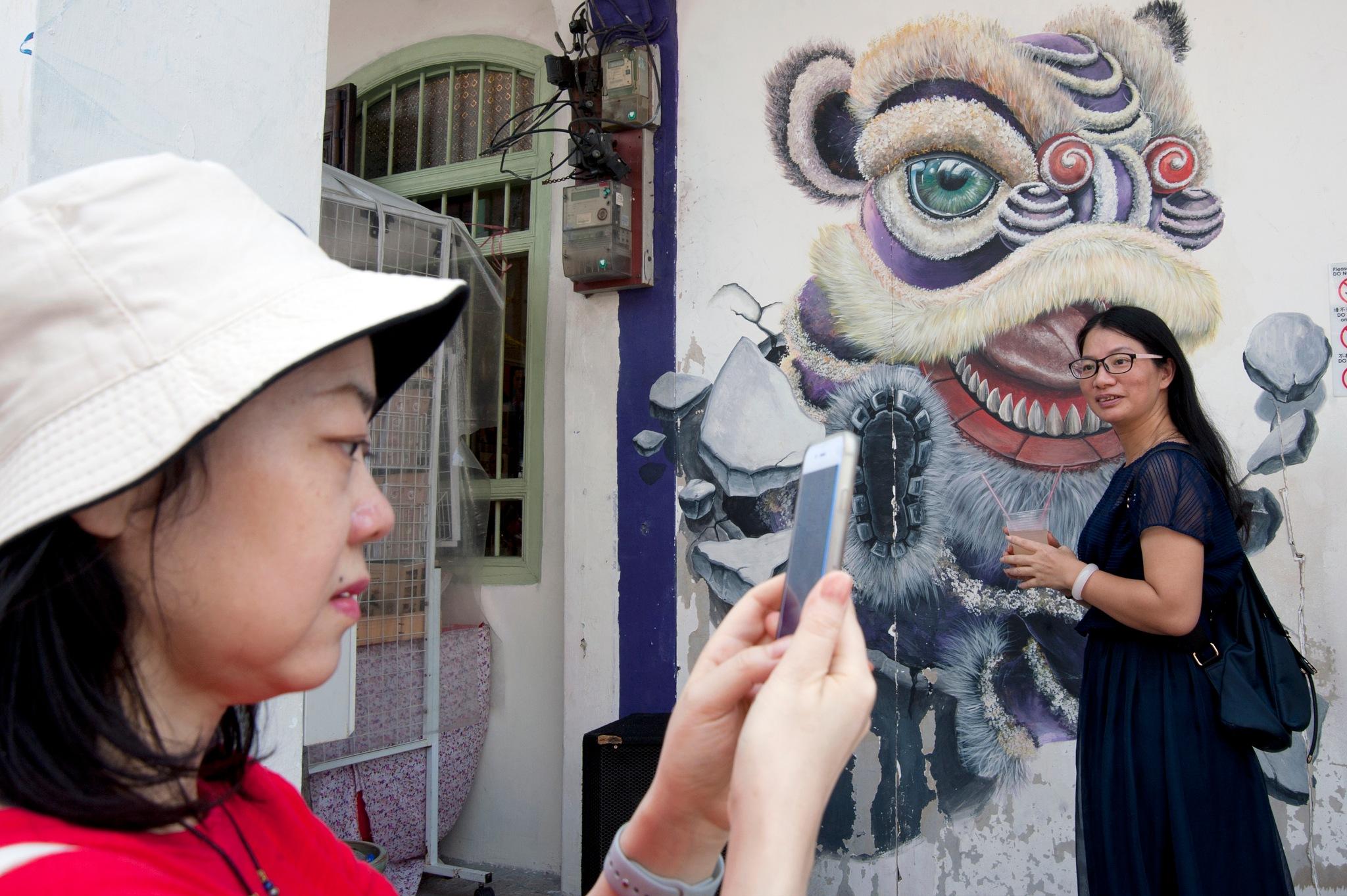 tourist by Mustaffa Tapa Otai