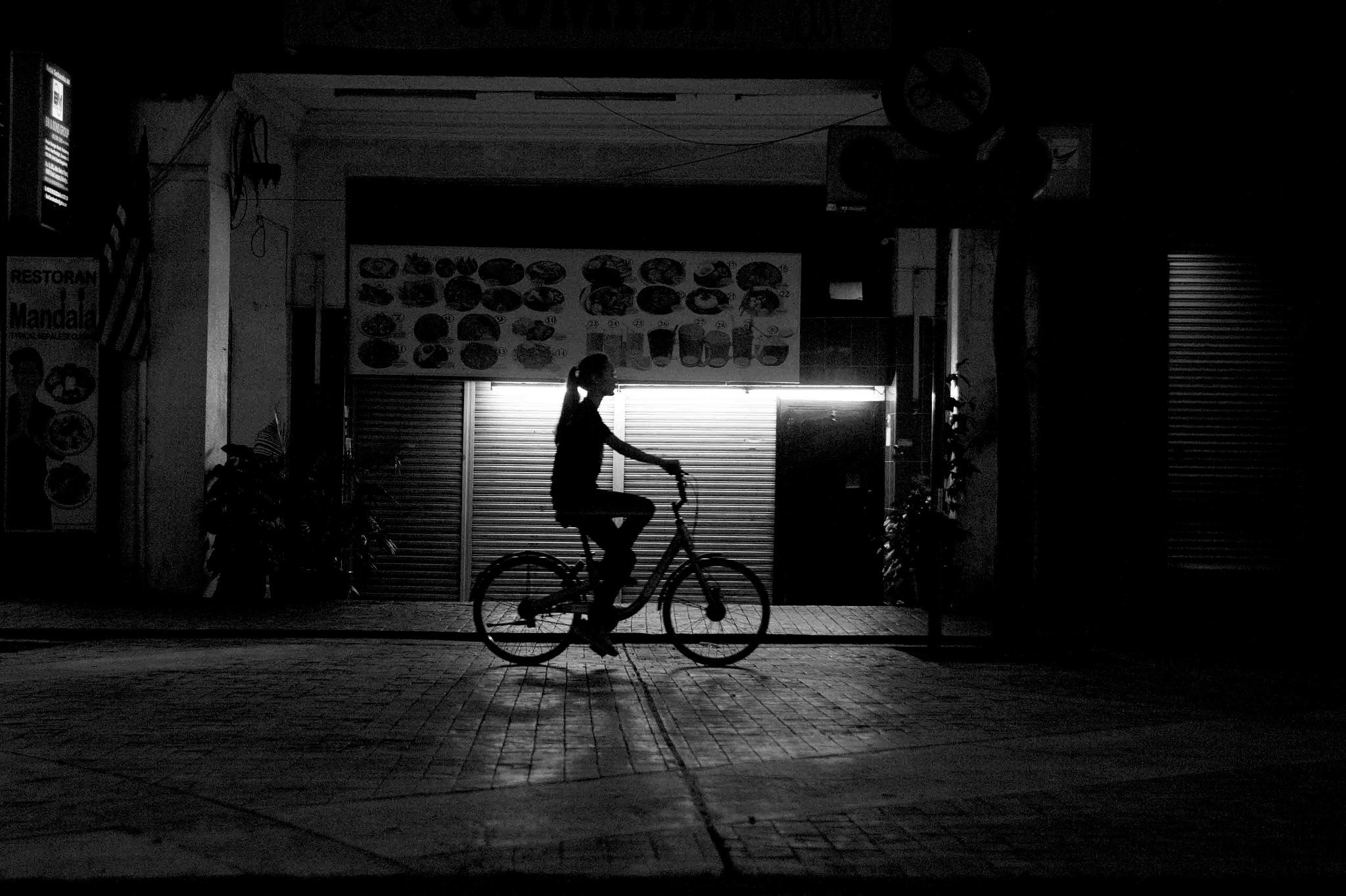 bicycle  by Mustaffa Tapa Otai
