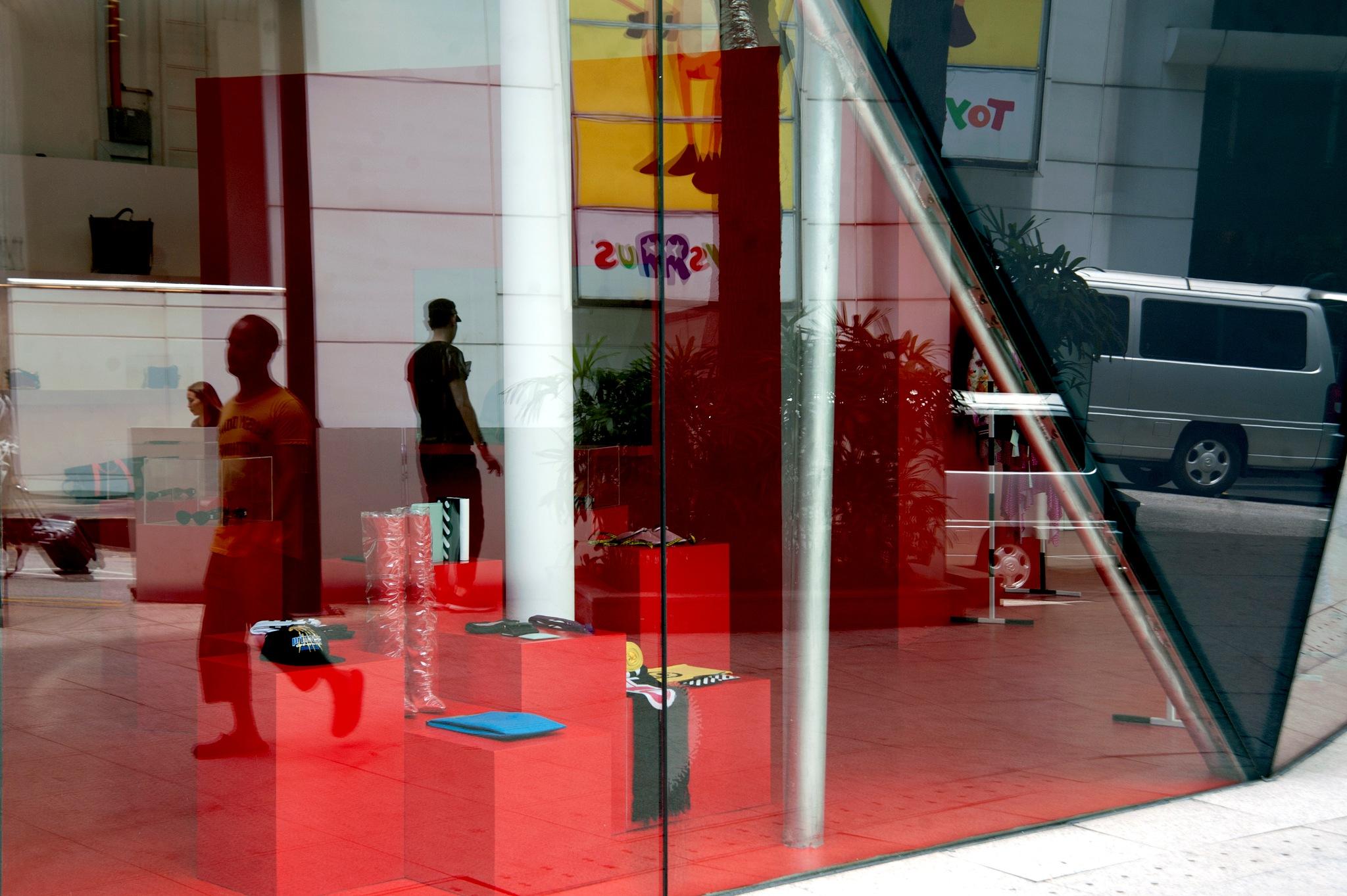 red reflection by Mustaffa Tapa Otai
