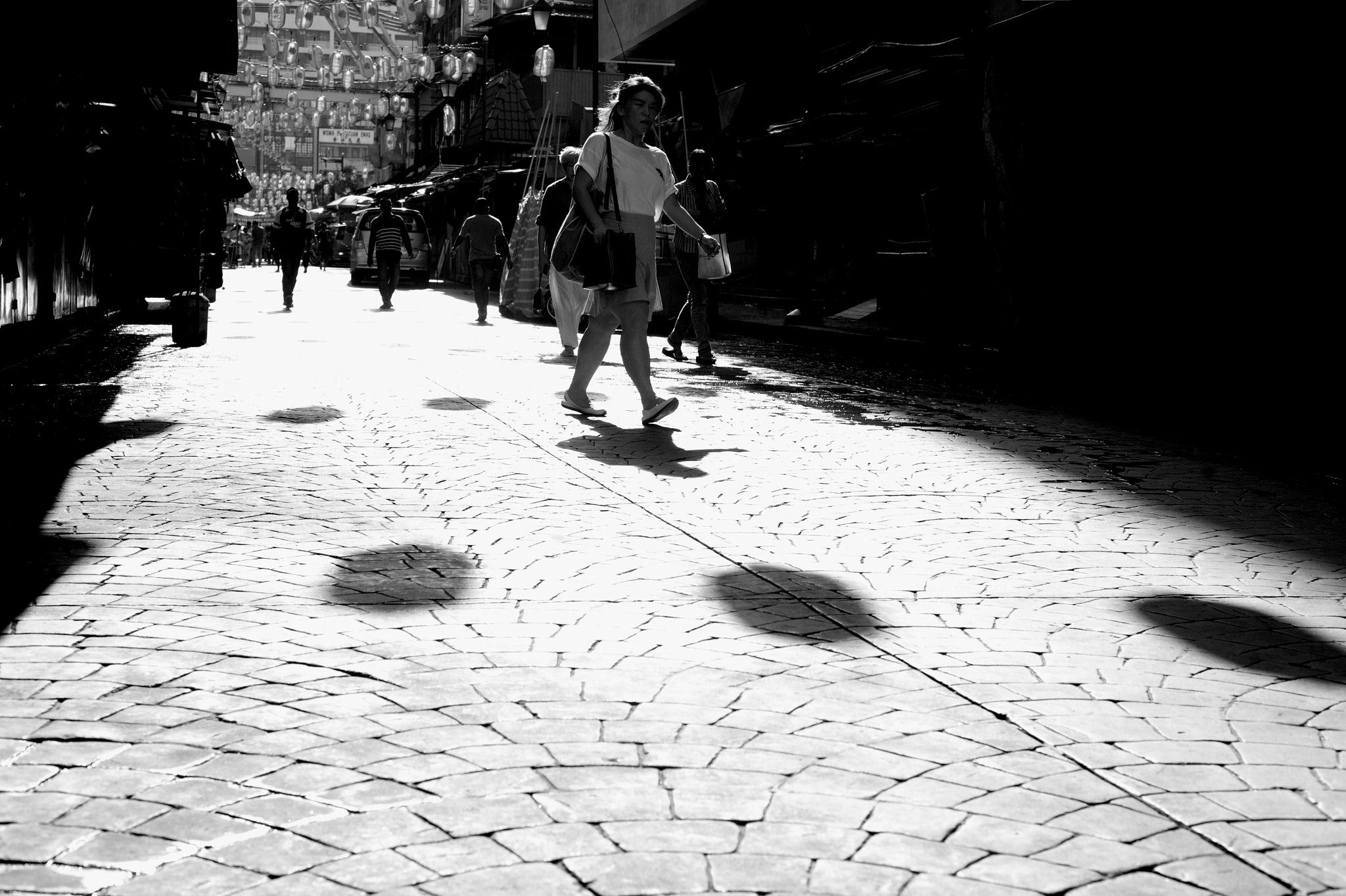 stroolling by Mustaffa Tapa Otai