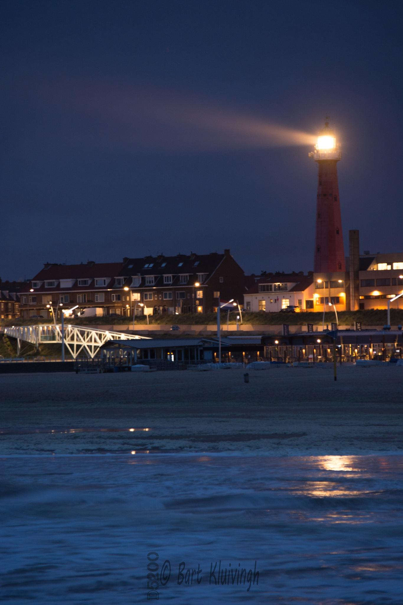 Lighthouse Scheveningen by Bart Kluivingh Fotografie