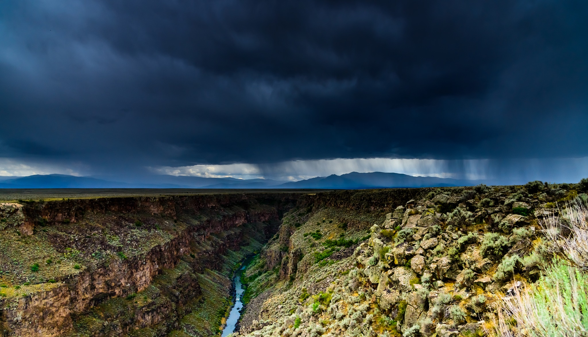 canyon to the storm by Chris Carey