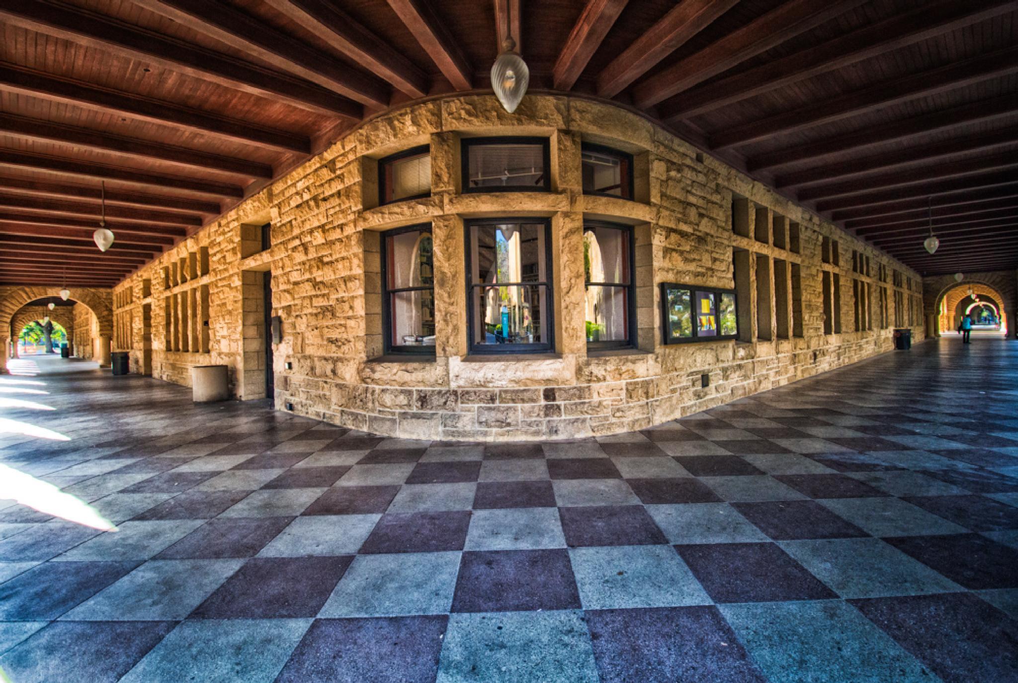 Stanford Research University Library , Palo Alto, CA, USA by Pravin Dwiwedi