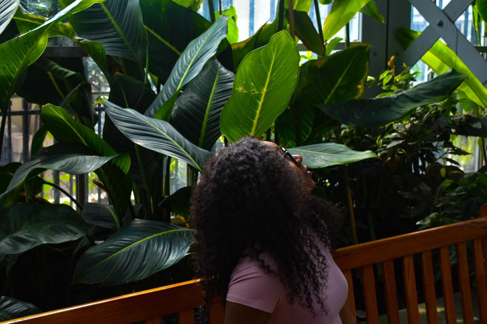 Keturah   Botanical Gardens  by @ChrisBreaux