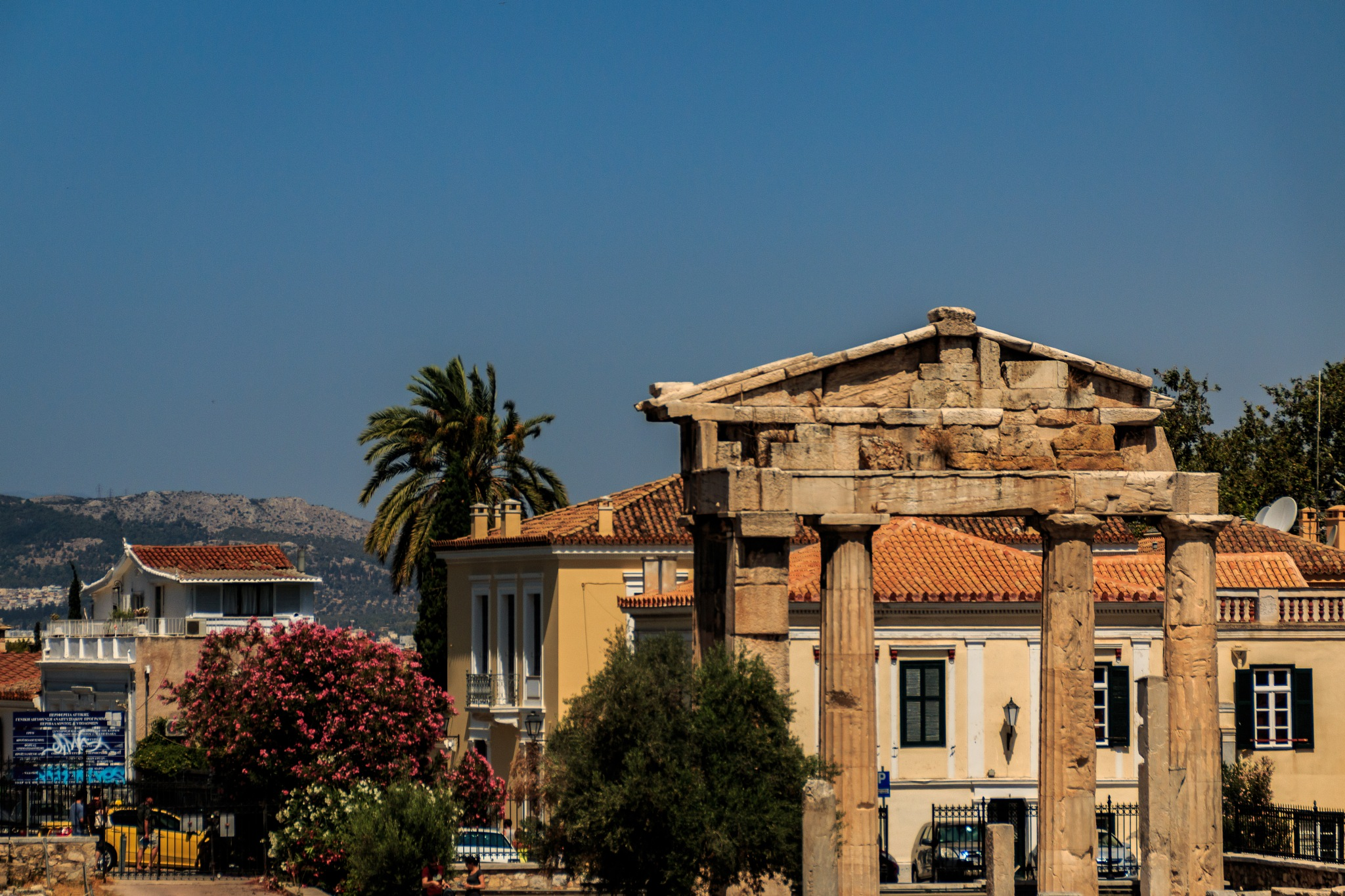 Athens City of Ruins by Jaap
