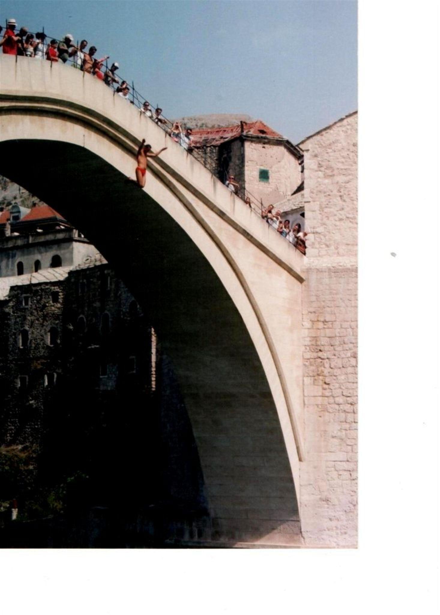 jump of a bridge by Josip Šibarić