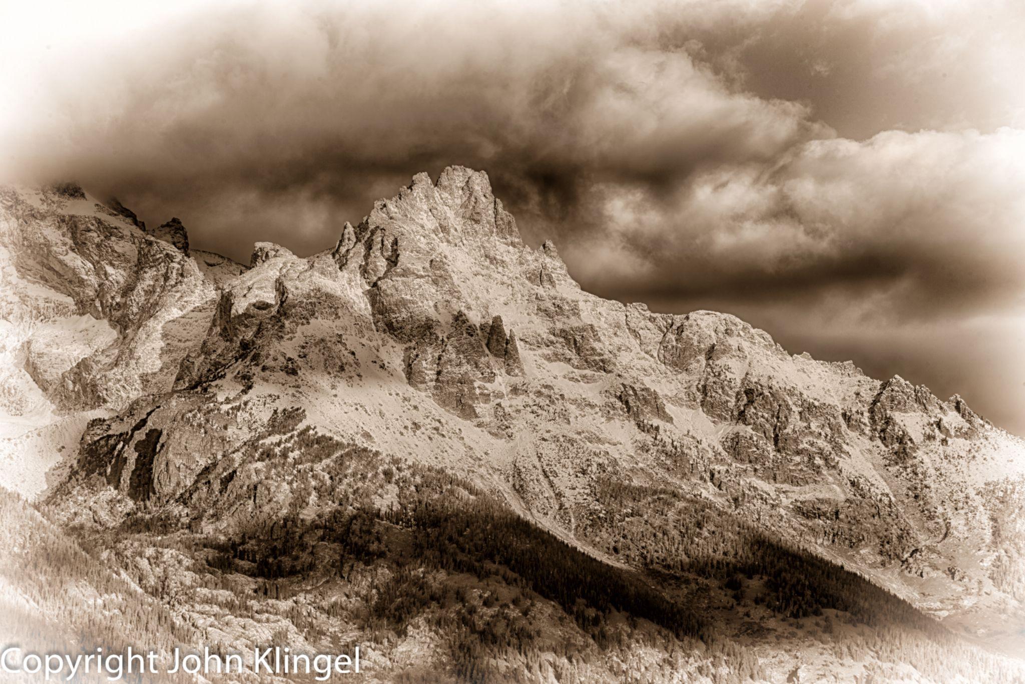 Grand Tetons by John Klingel