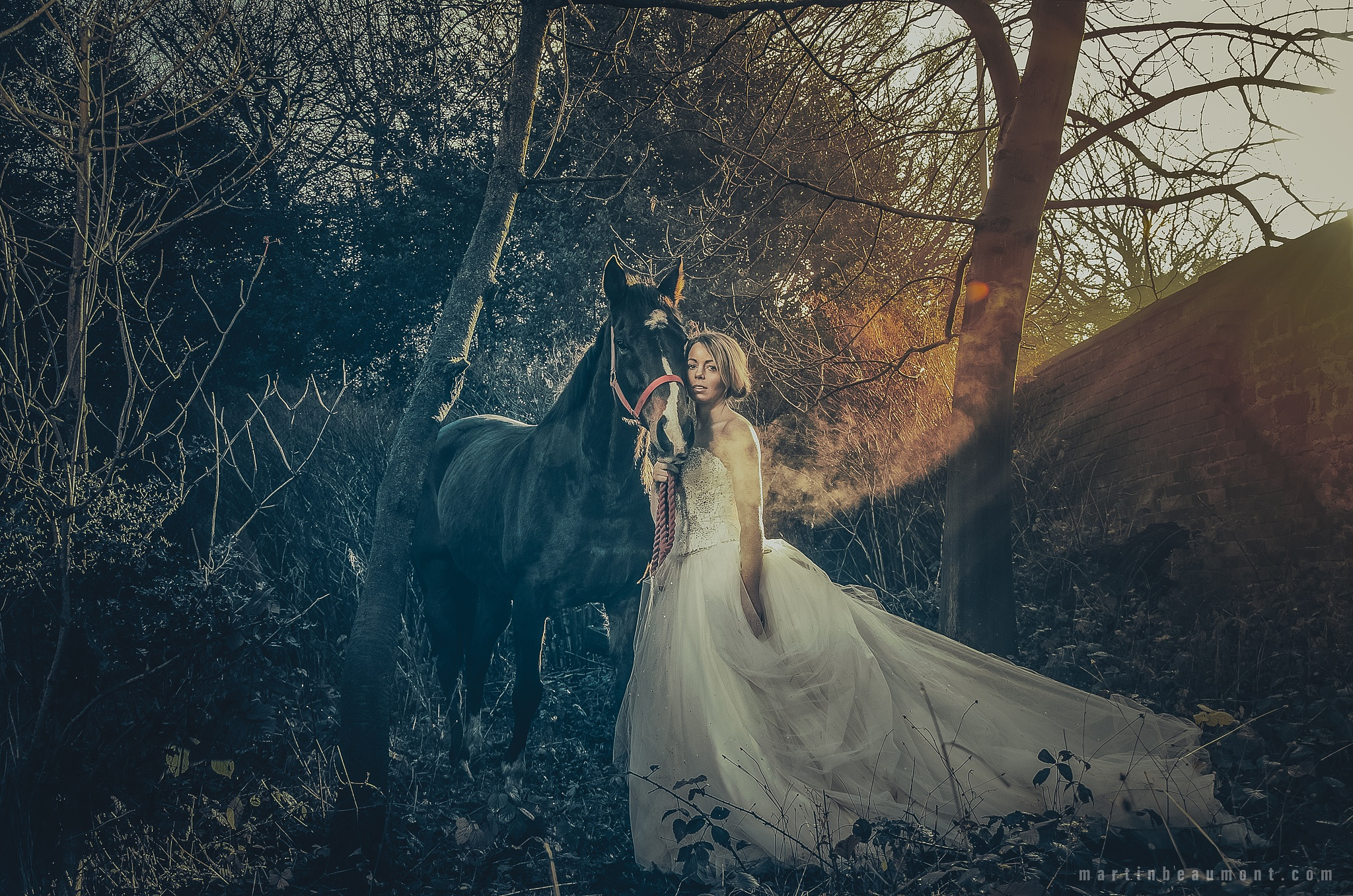 Bridal Portrait by MartinBeaumont