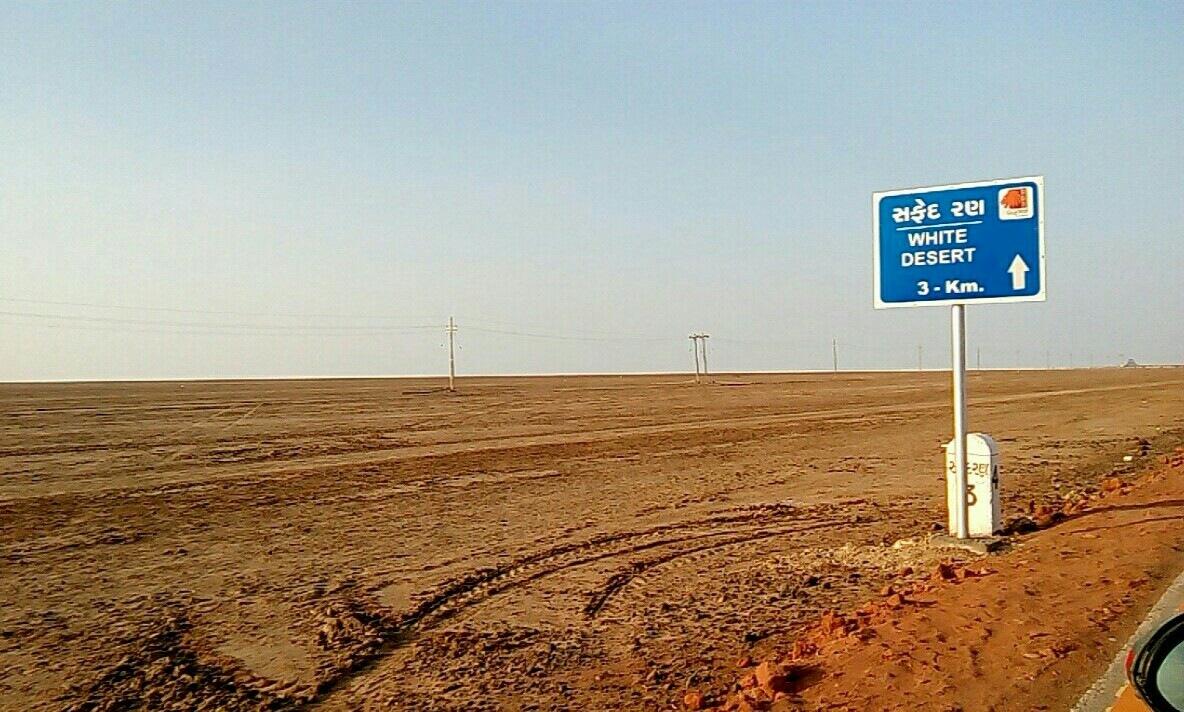Marching towards white desert by Breezyvvibe