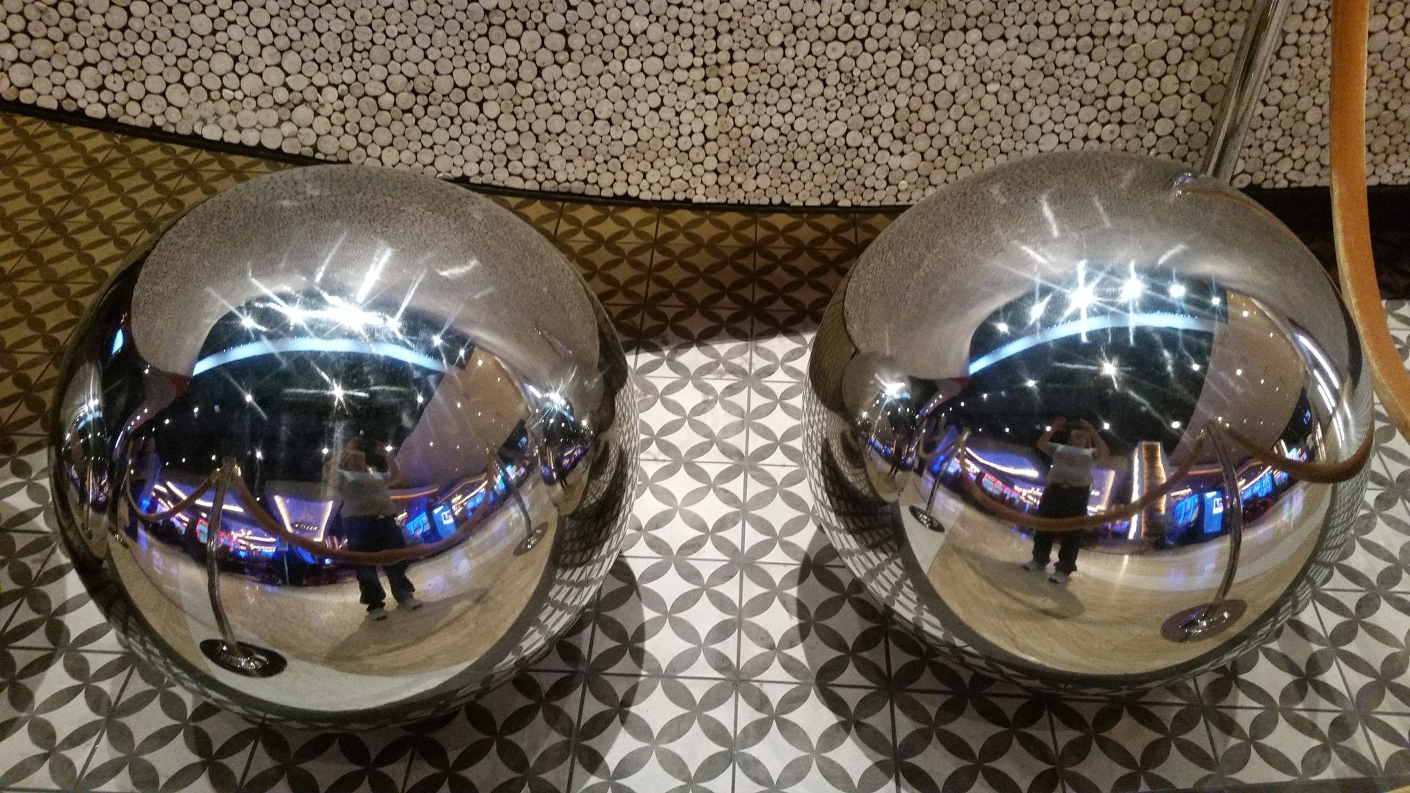 2 of 5 stainless steel balls by B56