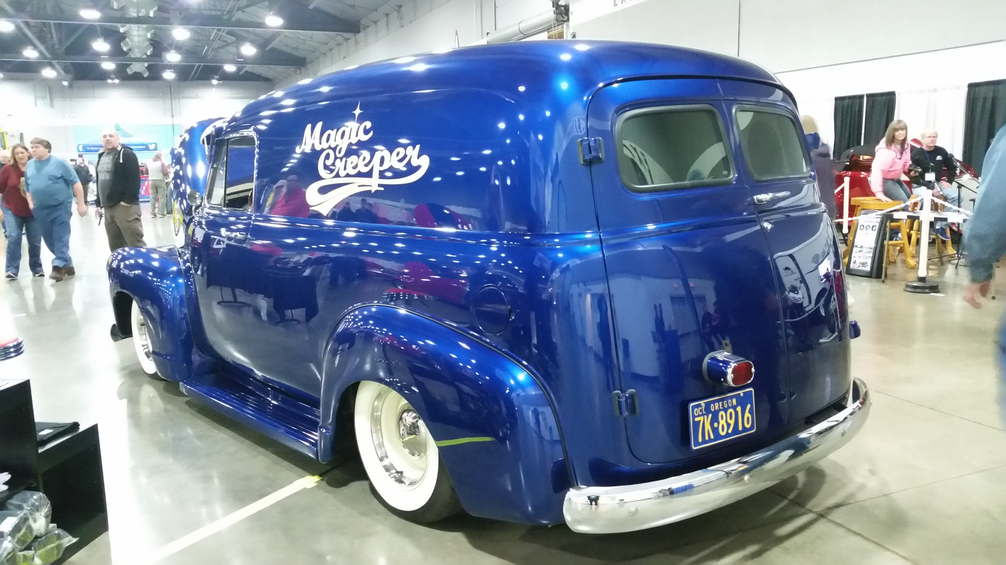 1950 Chevy panel custom by B56