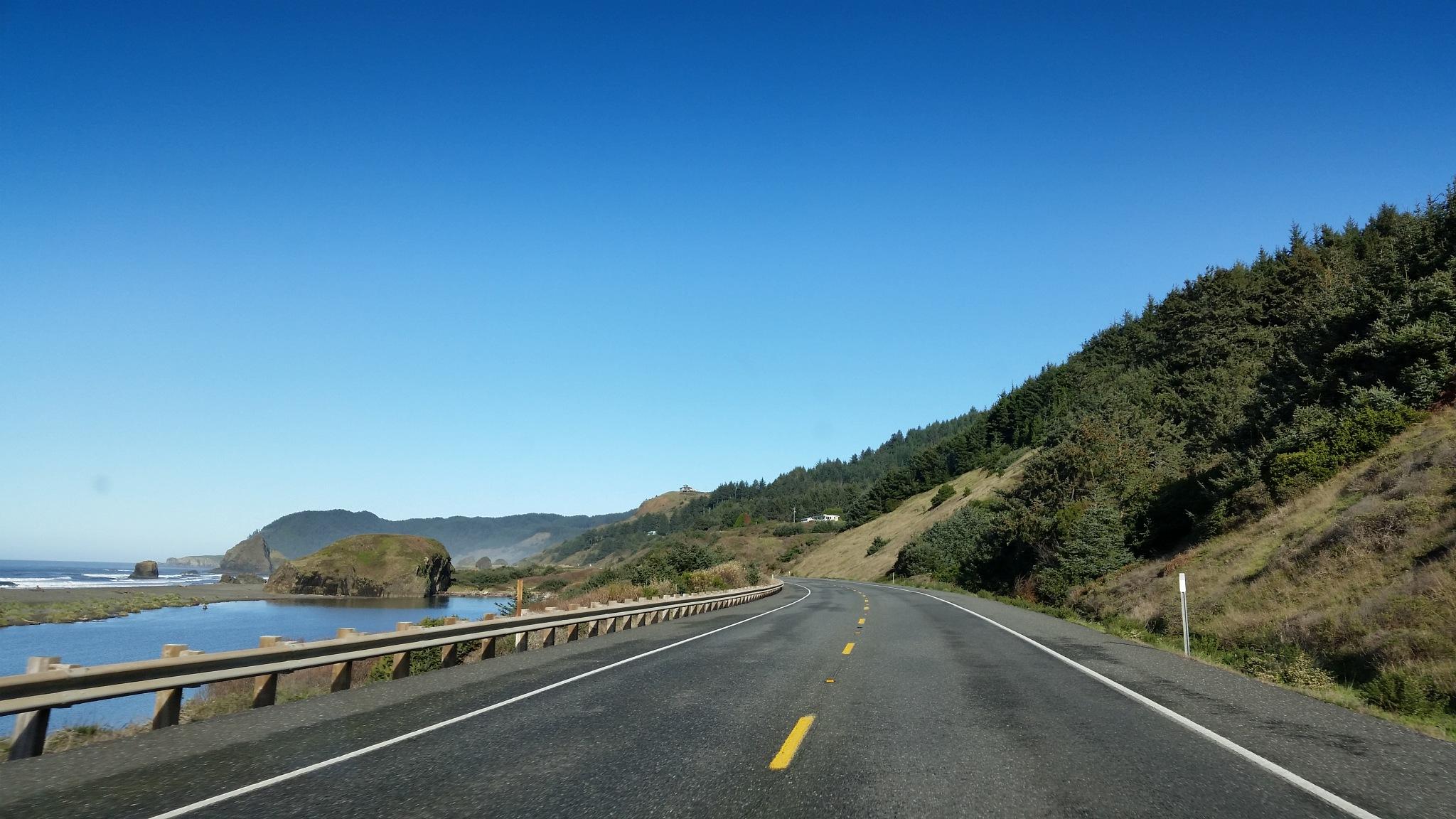 Highway 101 Oregon coast Bandon Oregon by B56