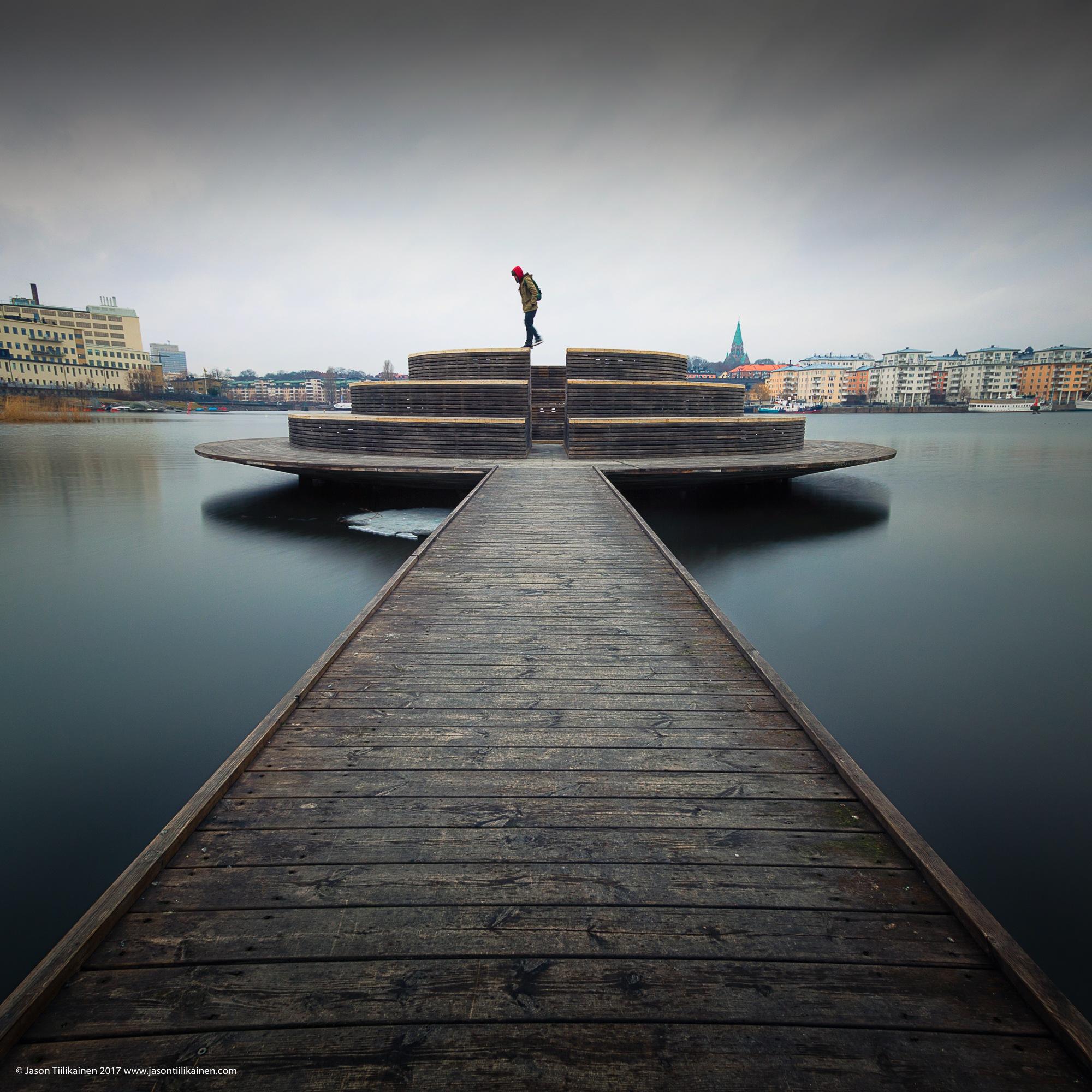 Stockholm Sef-portrait by Jason Tiilikainen