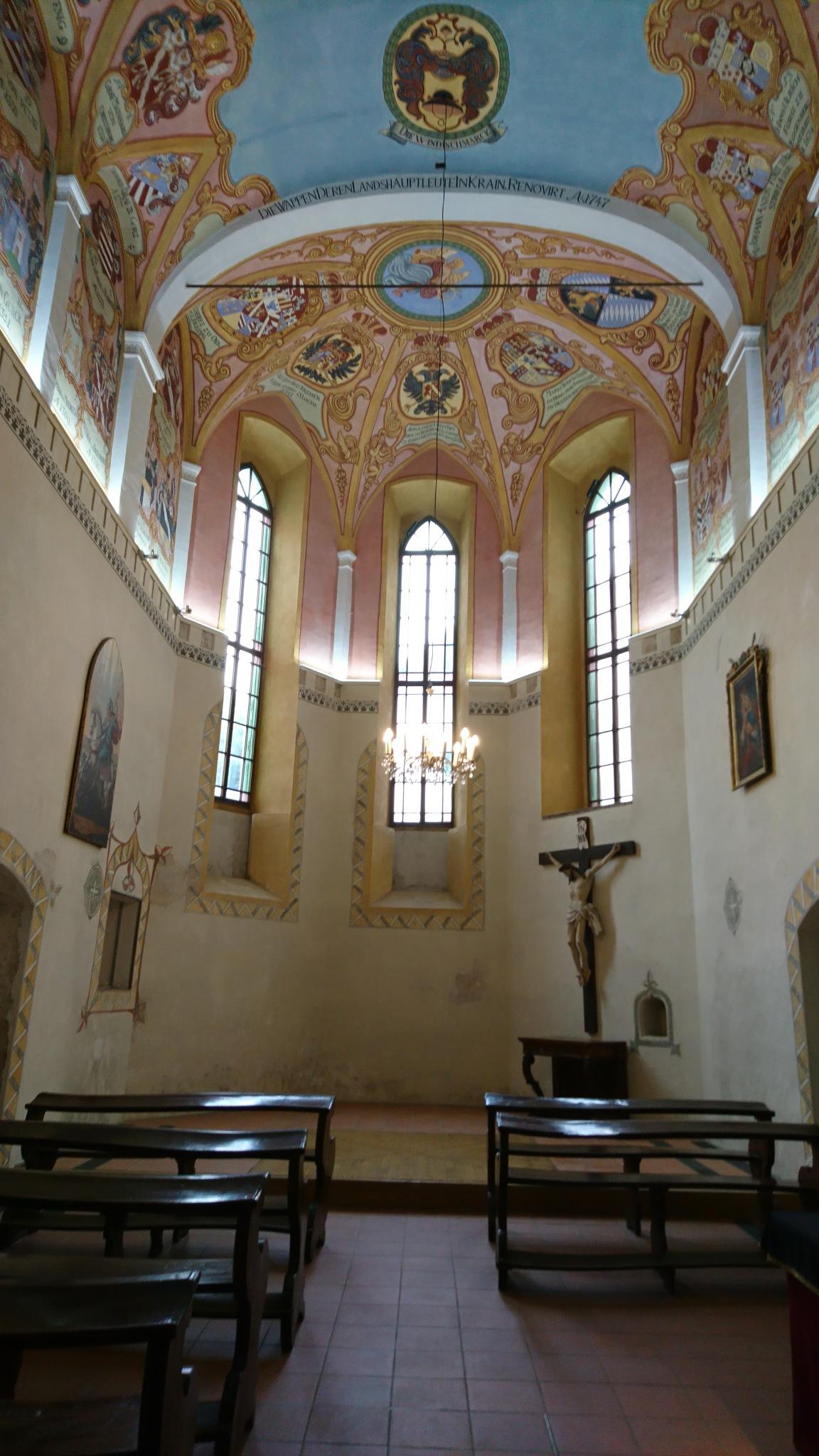 St. George Chapel....  by rositaburgoa