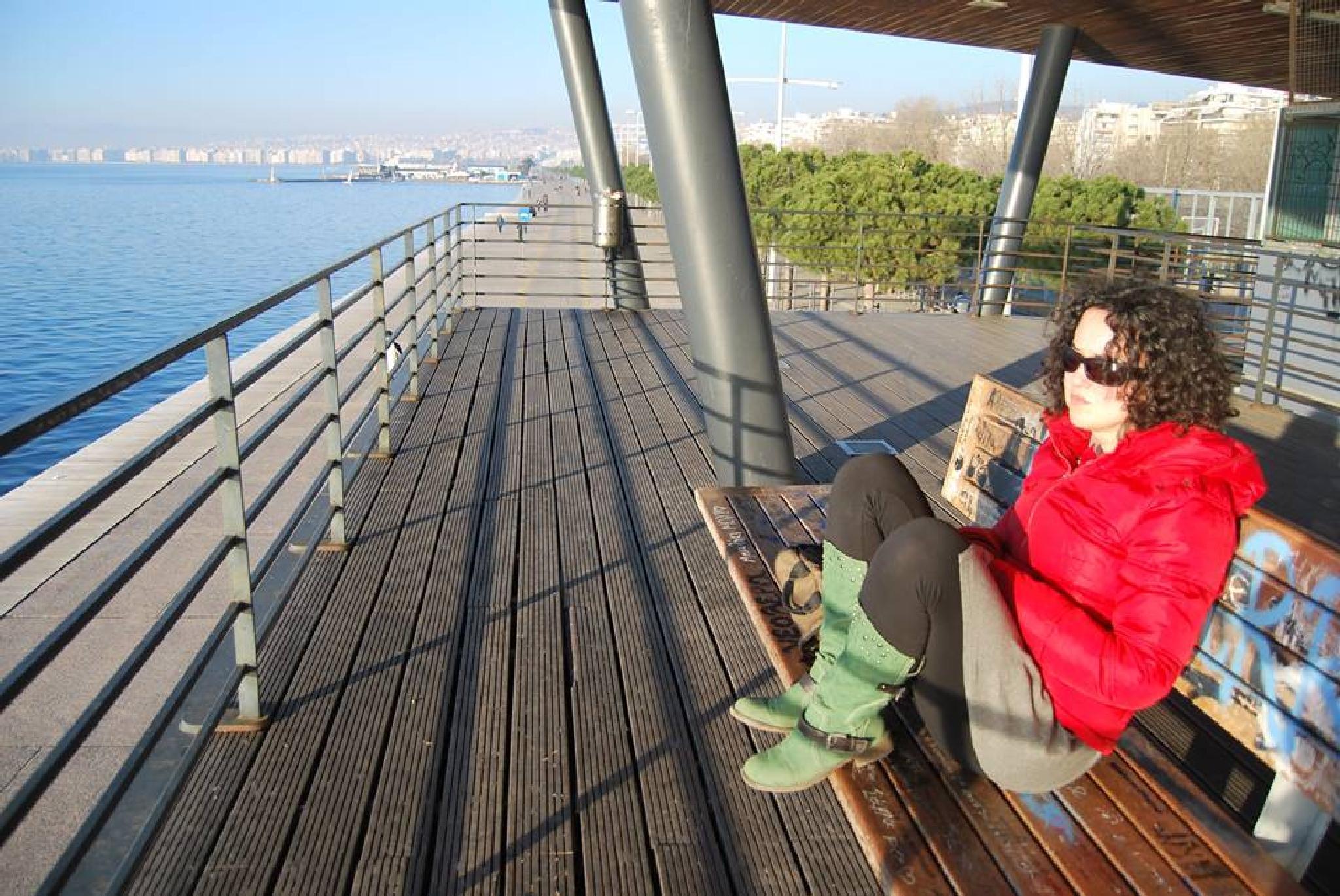 lounging 2 by Katerina Tzioridou