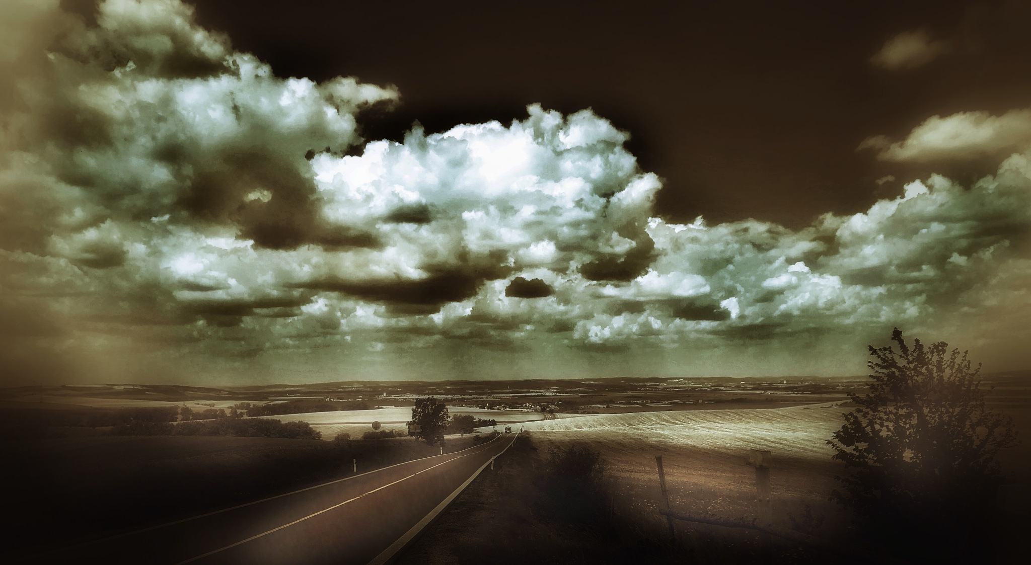 South Moravian Countryside  by Walter Novak