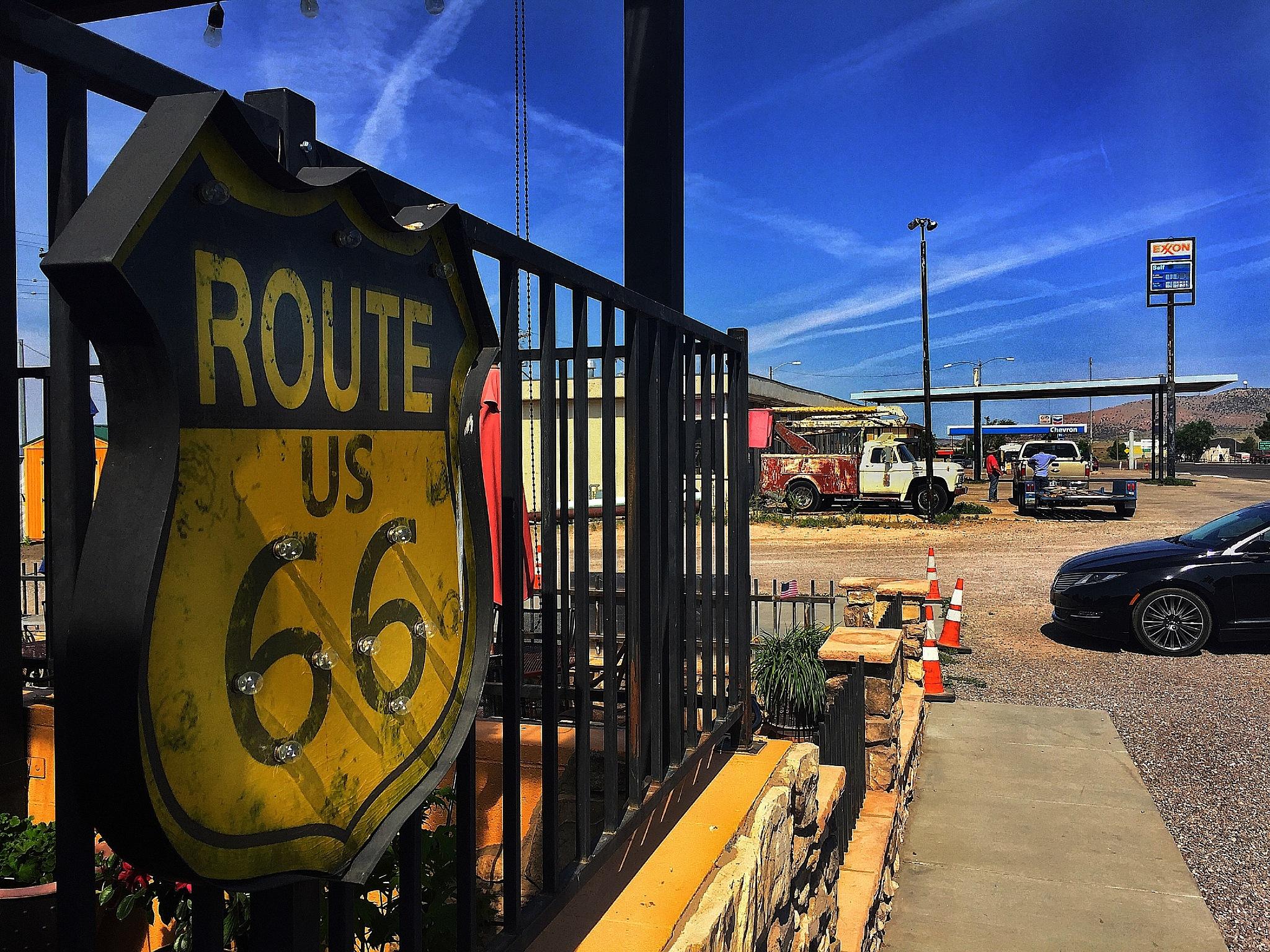 Famous& Legendary U.S.Route 66 by Walter Novak