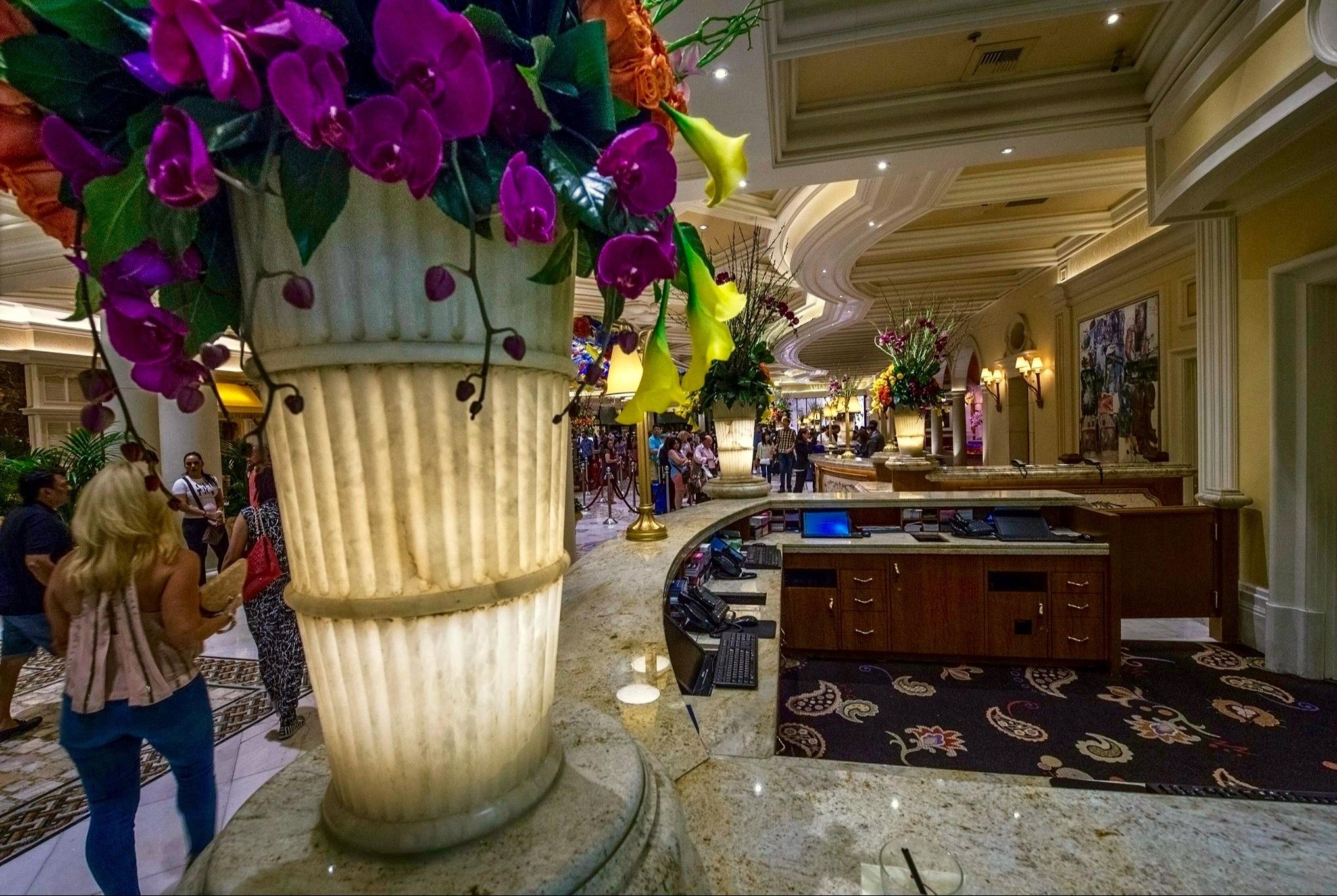 Luxury Hotel Bellagio- Las Vegas,Nevada by Walter Novak