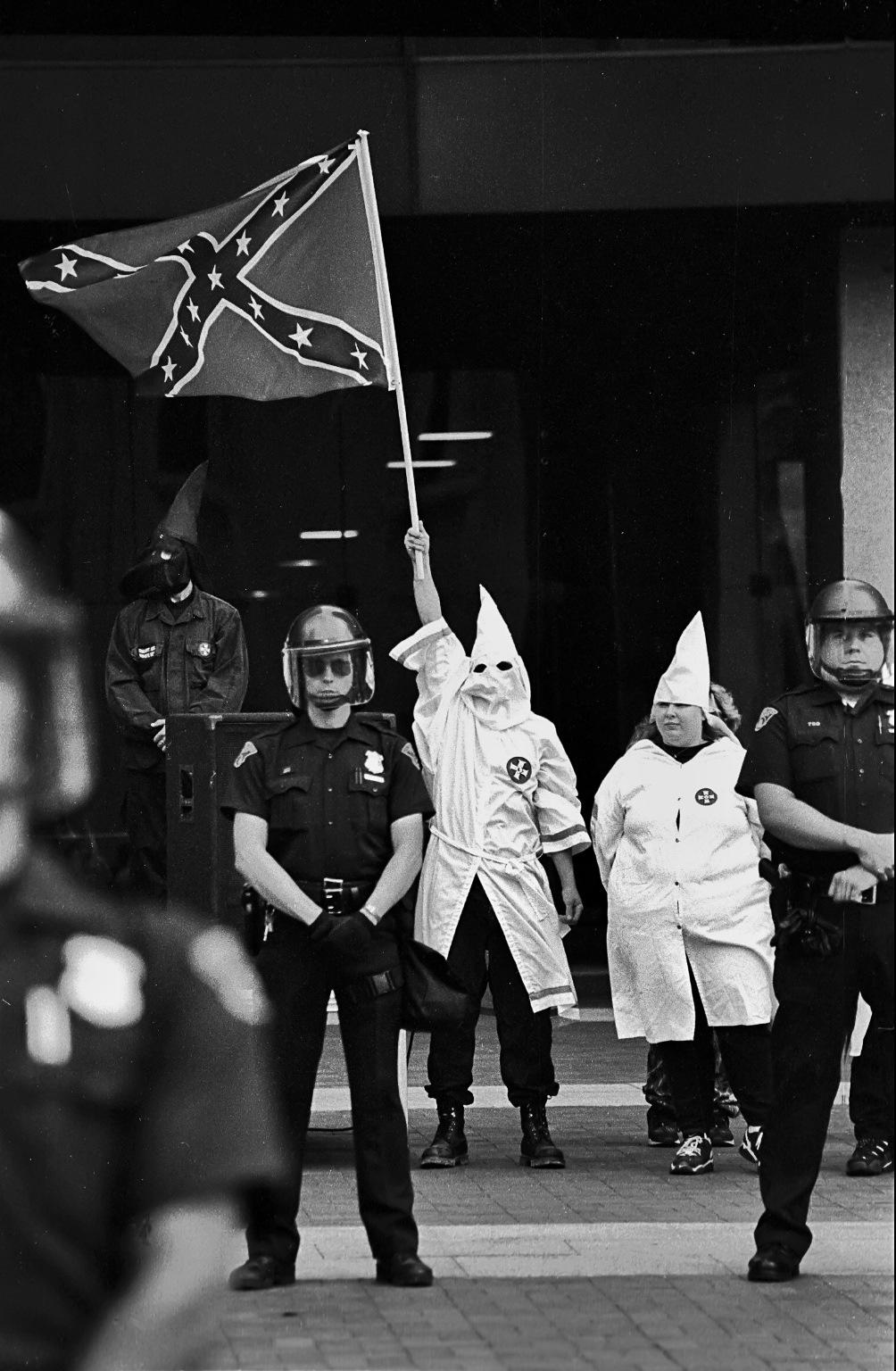 KKK RALLY IN CLEVELAND,OH 1999 by Walter Novak