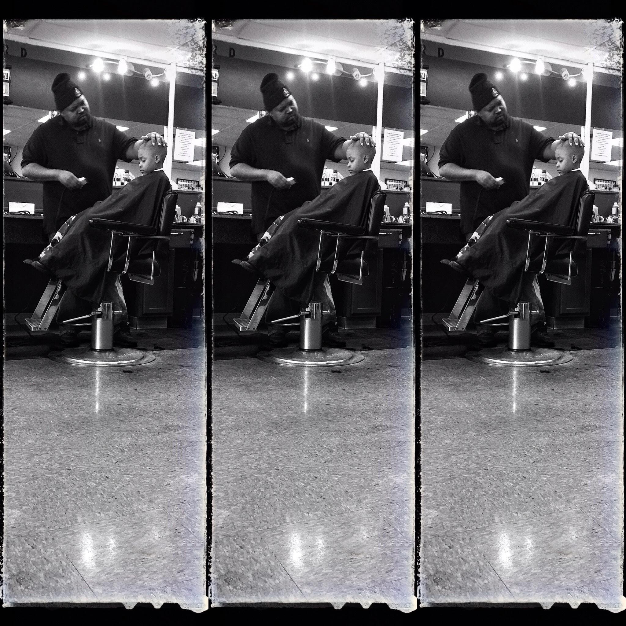 American Barbershop  by Walter Novak