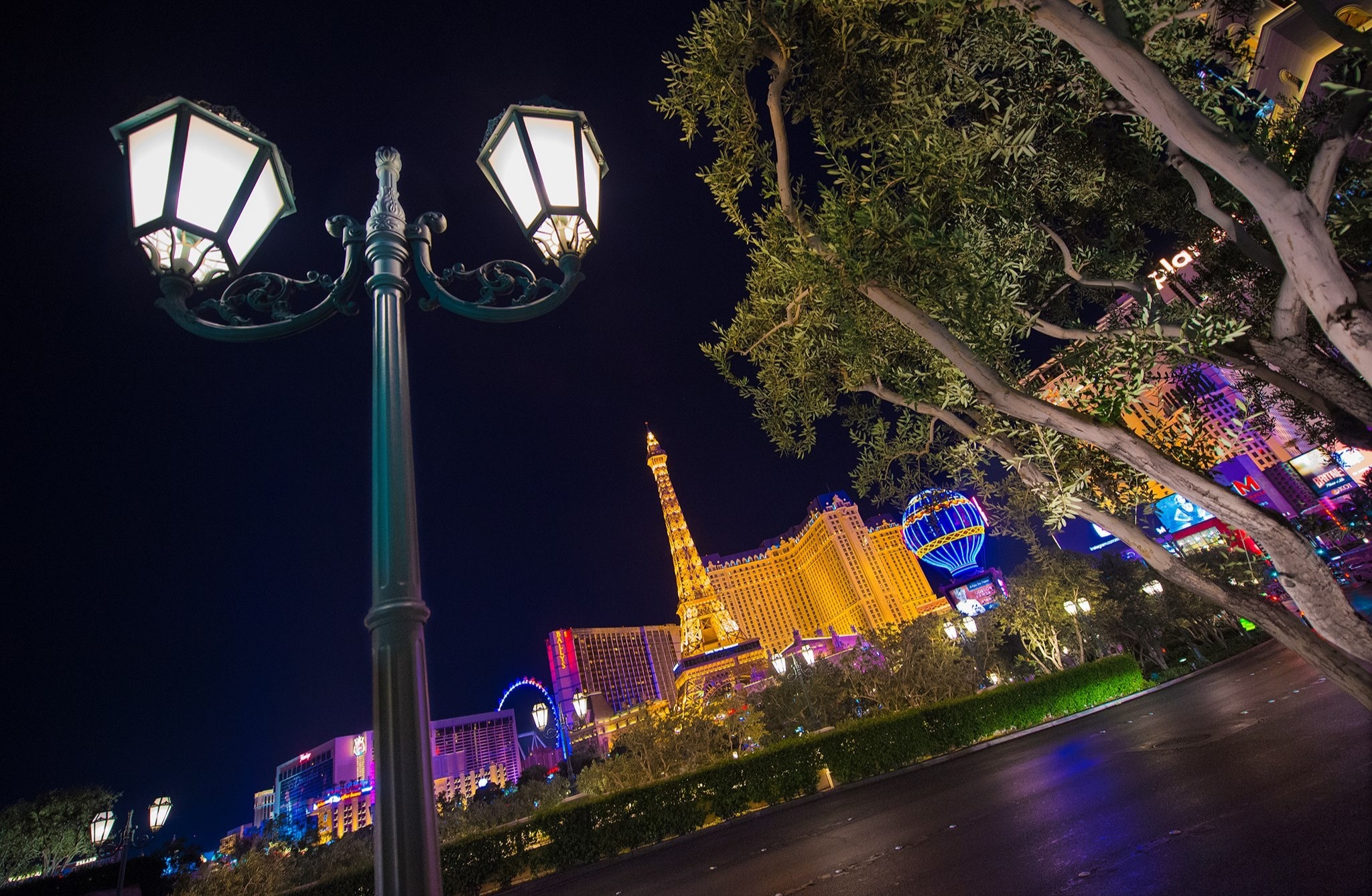 Sin City Las Vegas,Nevada  by Walter Novak