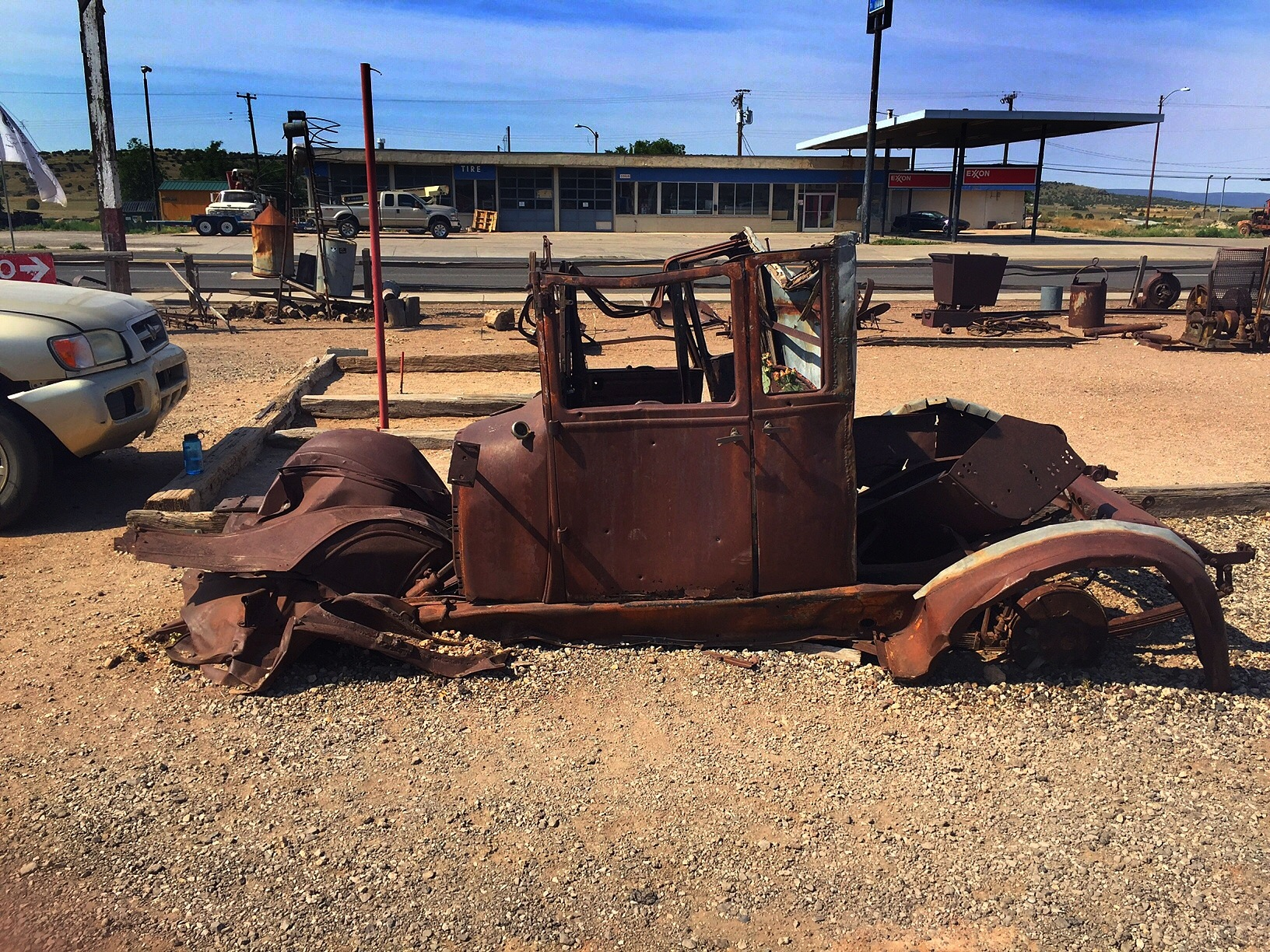 Old timers in Arizona  by Walter Novak