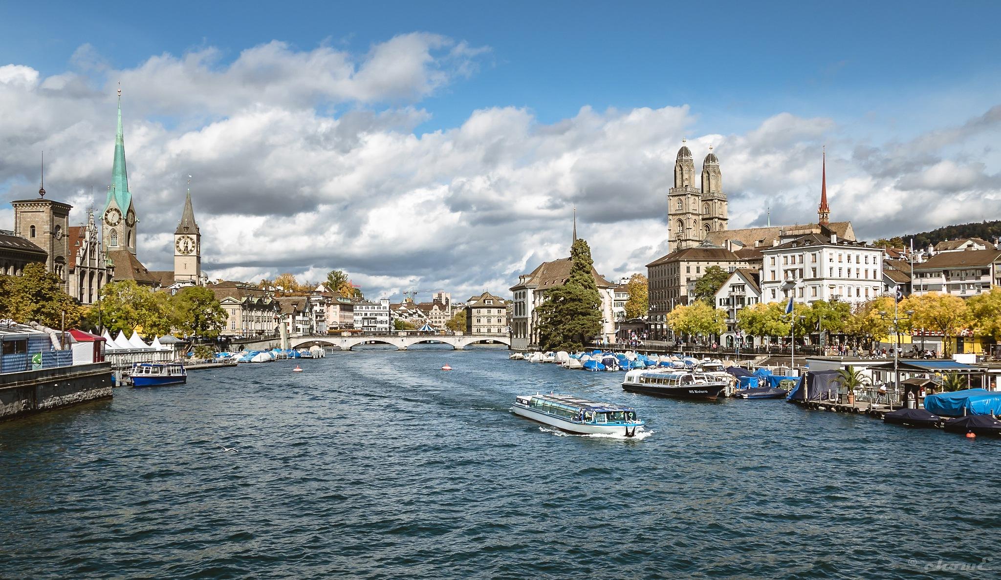 Zurich#1 - River Limmat by chowE