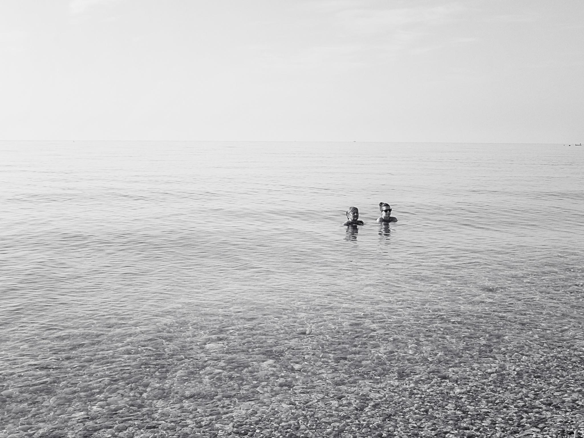 the sea  by M.Vizzani