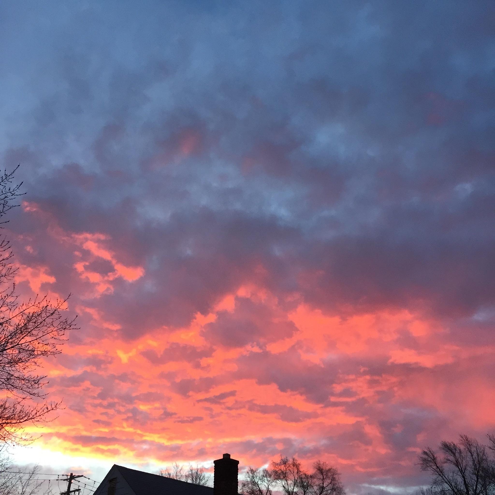 Front Yard Sun Set by Mgrinage