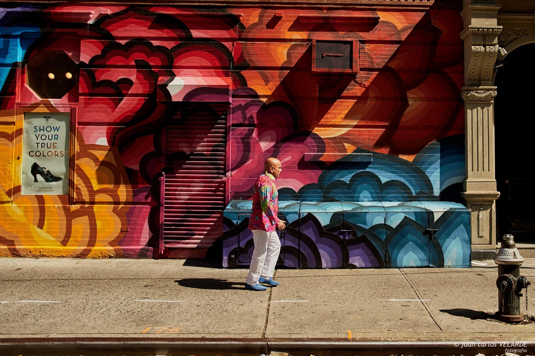 Colors in NY by Juan Carlos Velarde