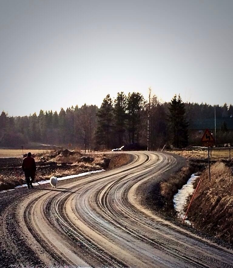 The way home by Inka Maria Valtamo