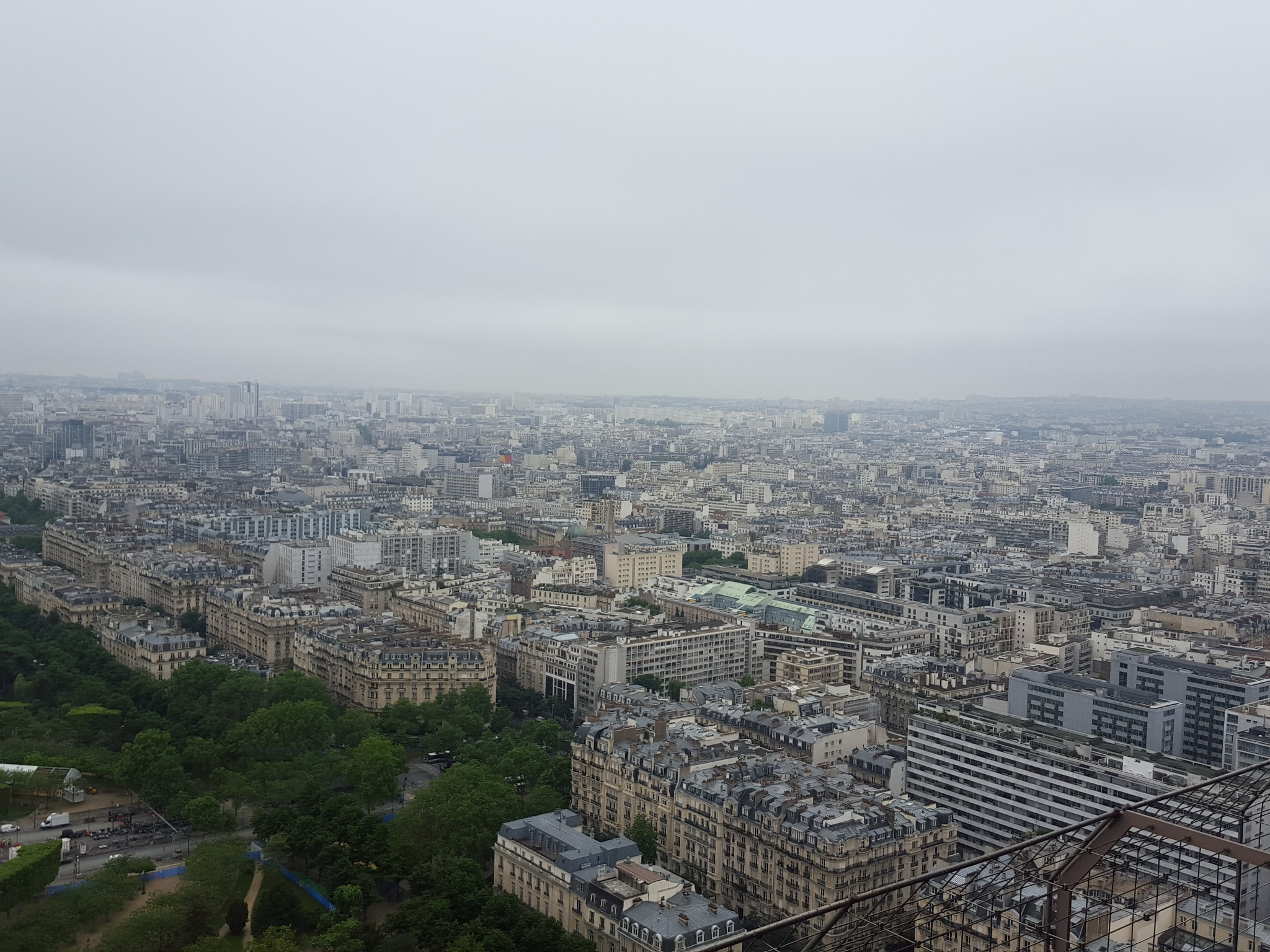 View from the Eiffel Tower (Paris, France) by Syiqah A.