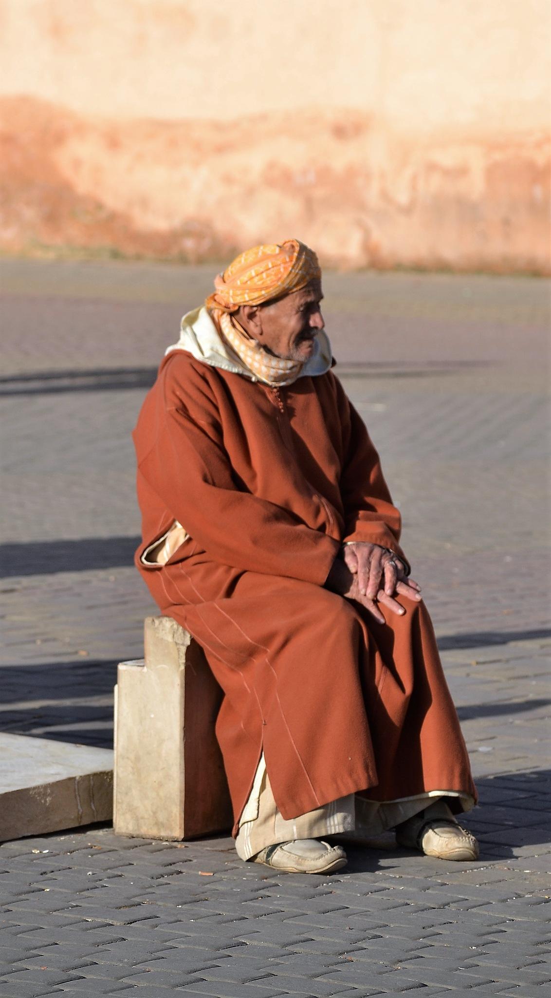 Moroccan man by LolaBA