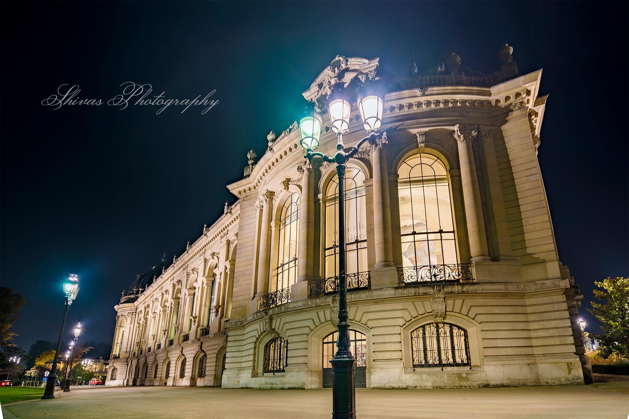 PARIS BY NIGHT by Shivas Sivakumar