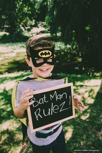 Batman by BronwynBrown