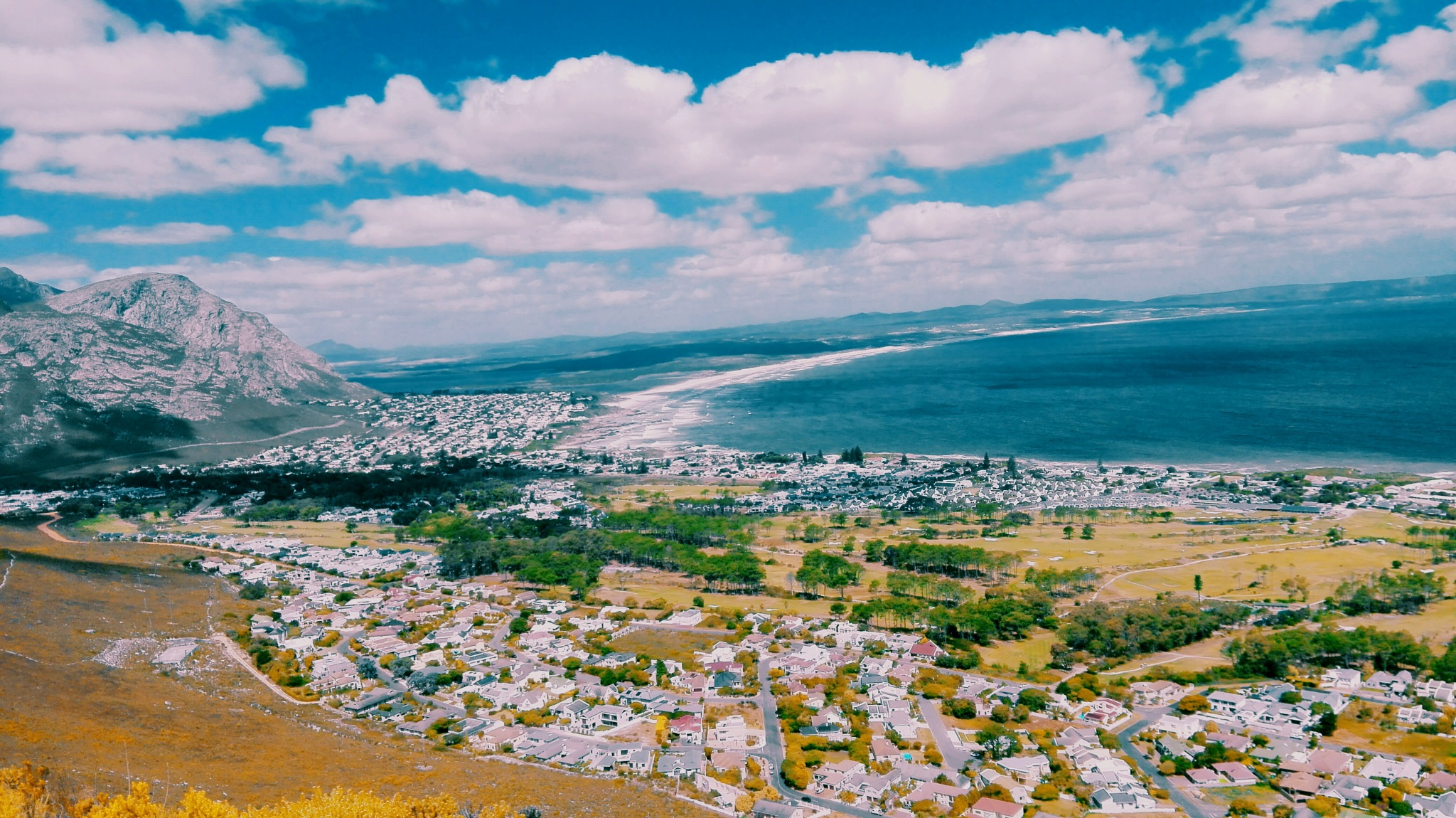 Hermanus overview by BronwynBrown