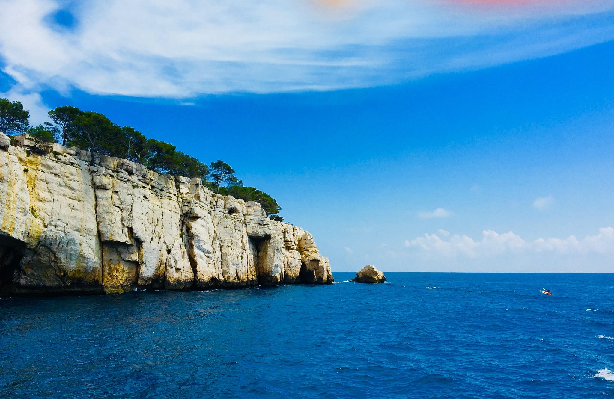 Mediterranean Sea by ceciliacarcamo