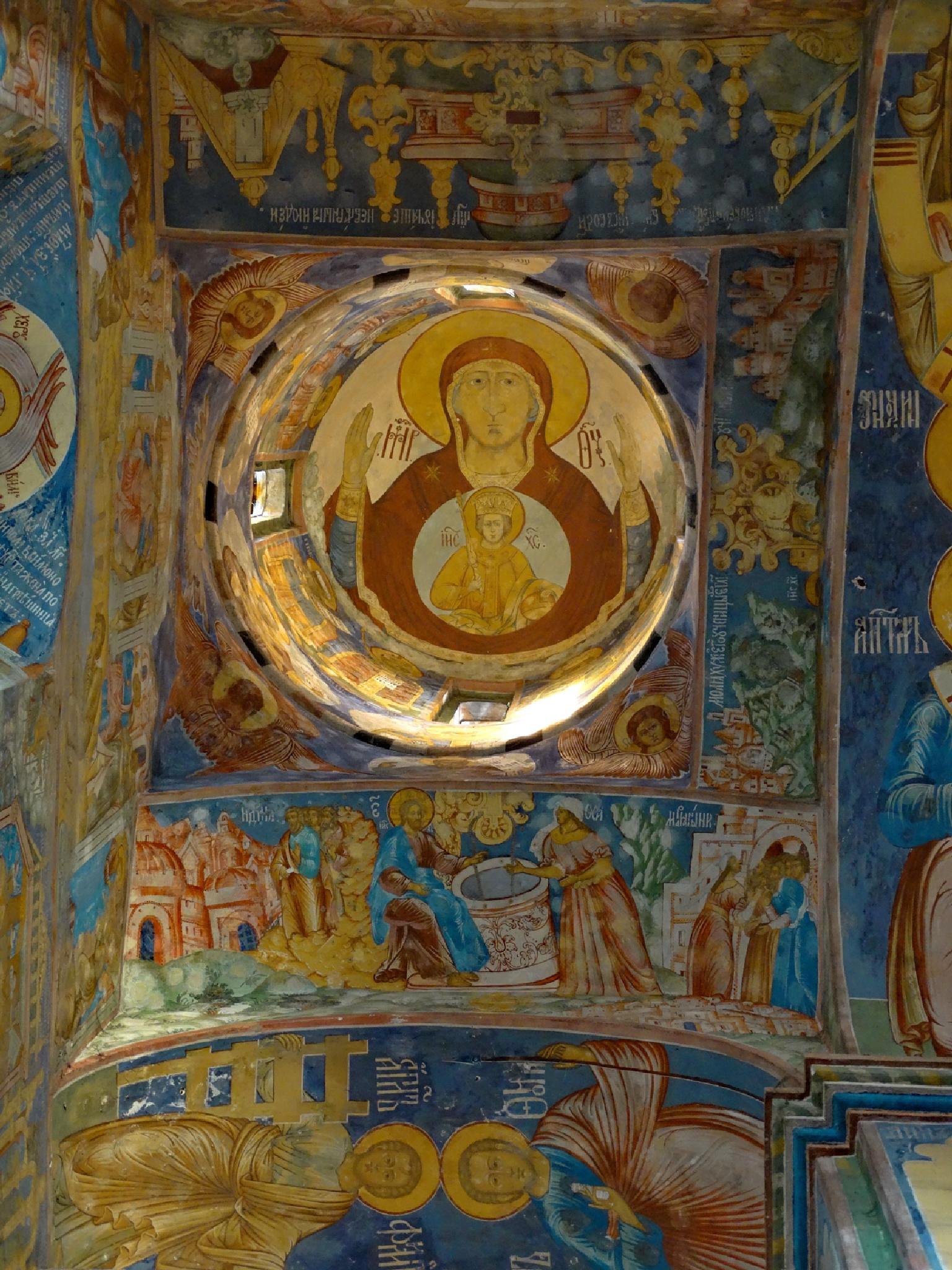 Богородица в куполе by tarutinaolga2012