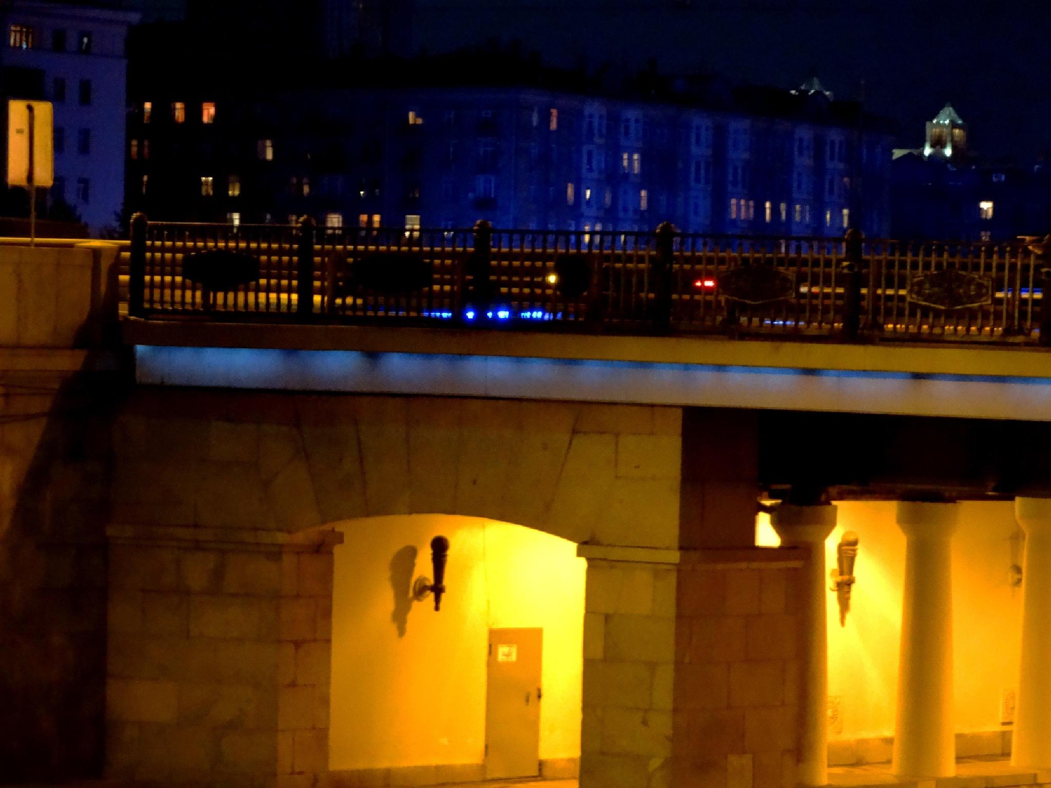Синий дом у жёлтого моста by tarutinaolga2012