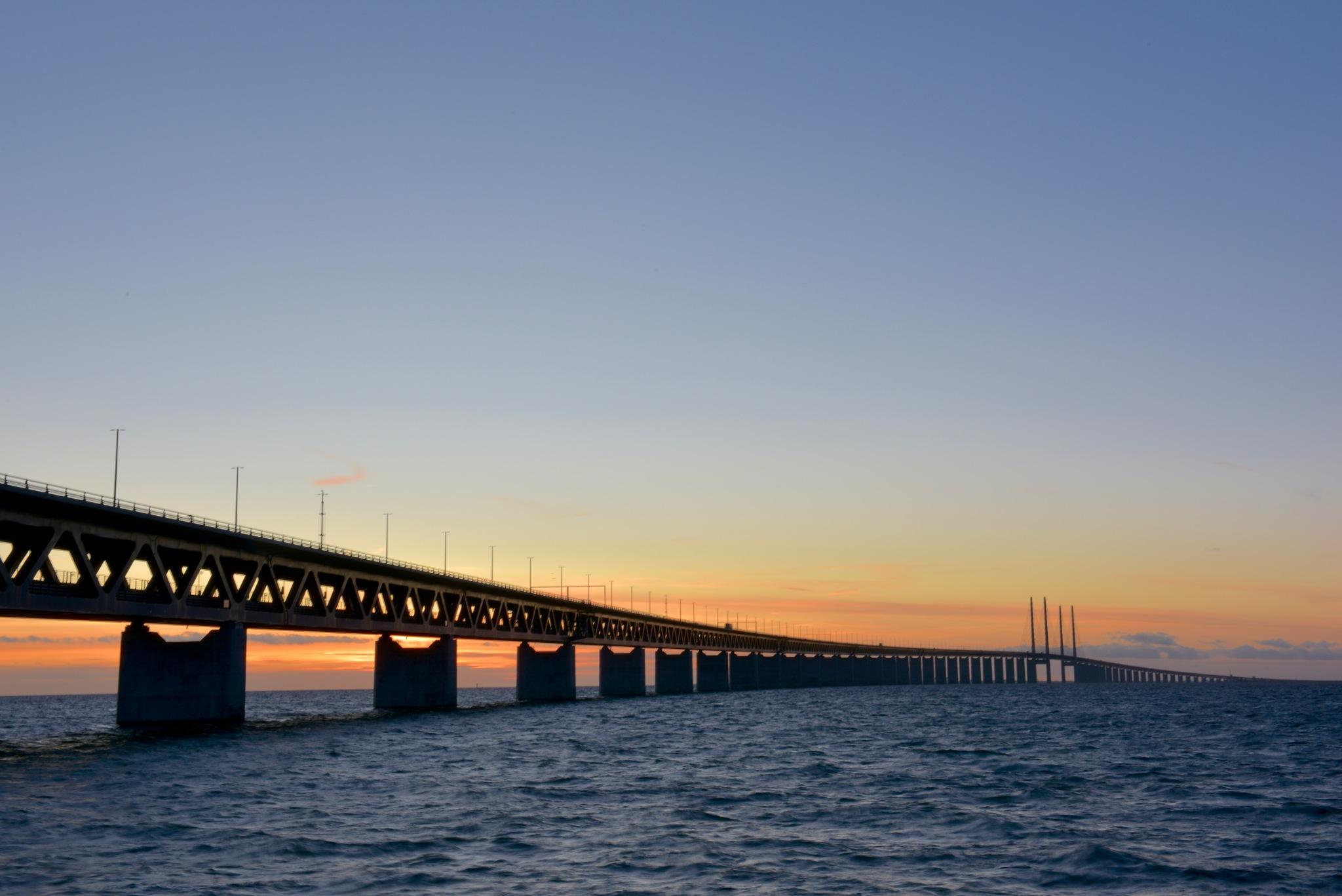 Oresund bridge 4! by Memed Bayatli